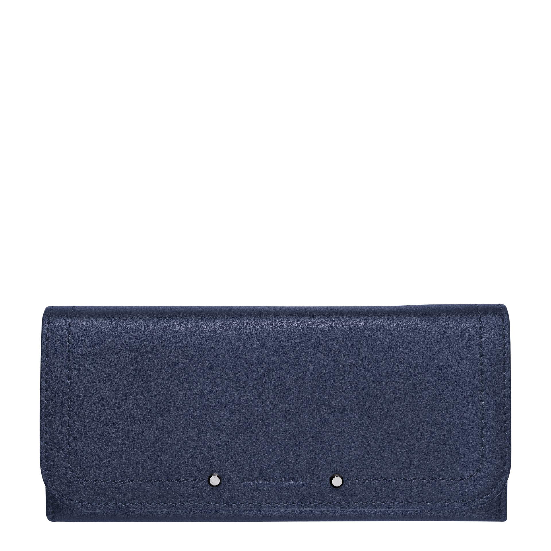 Longchamp Cavalcade Lange Geldbörse mit Überschlag navy