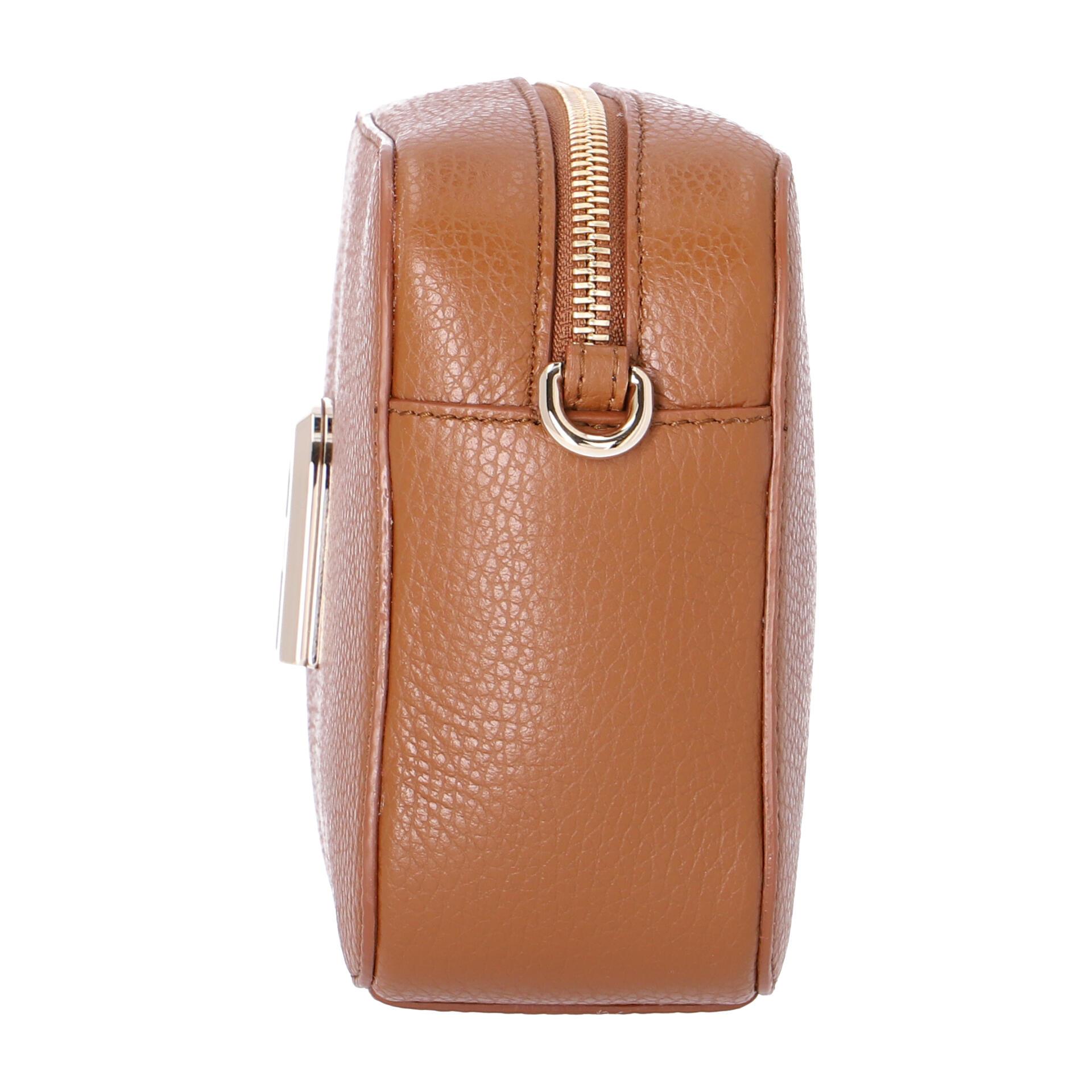 Furla Sleek Mini Camera Case  cognac h