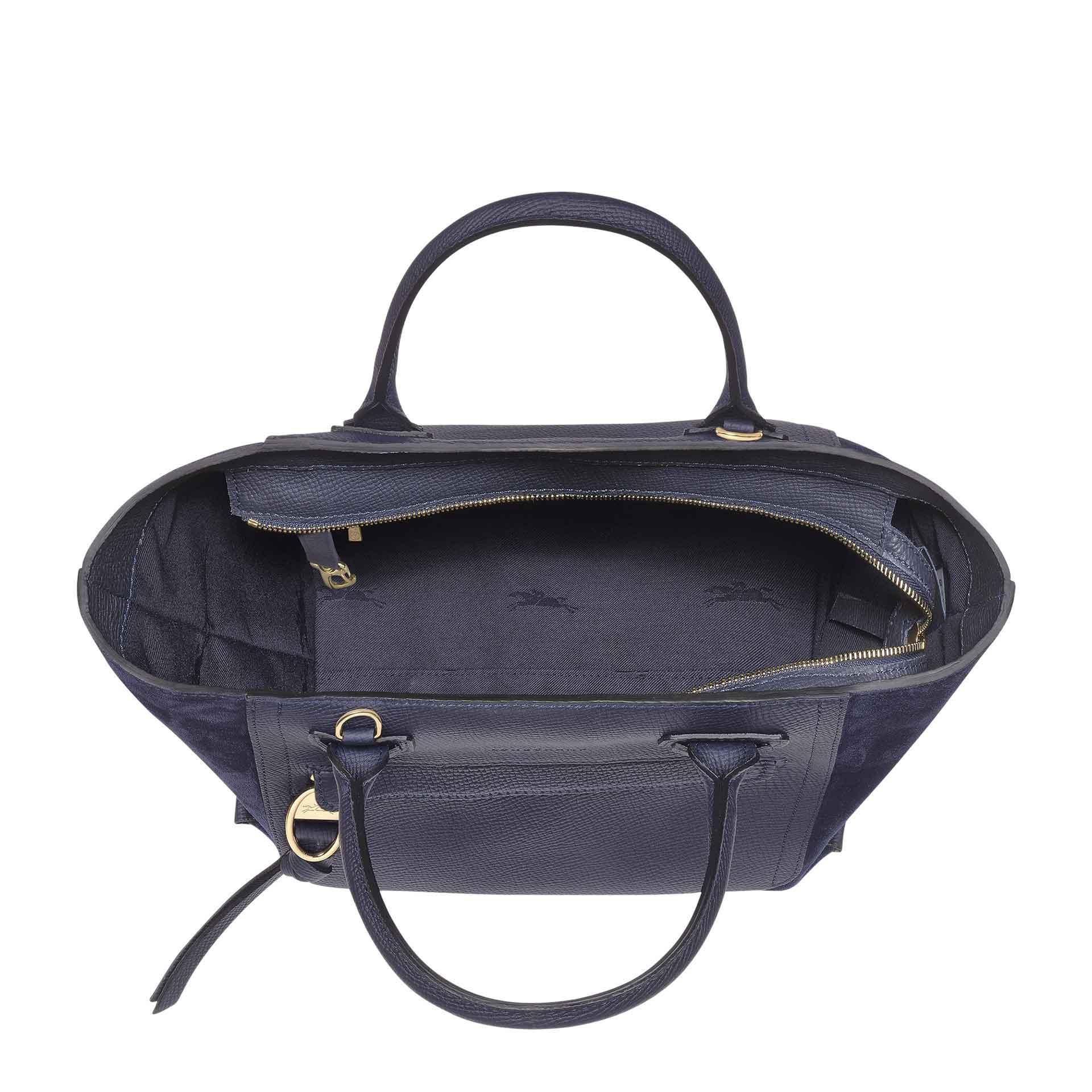 Longchamp Mailbox Handtasche navy