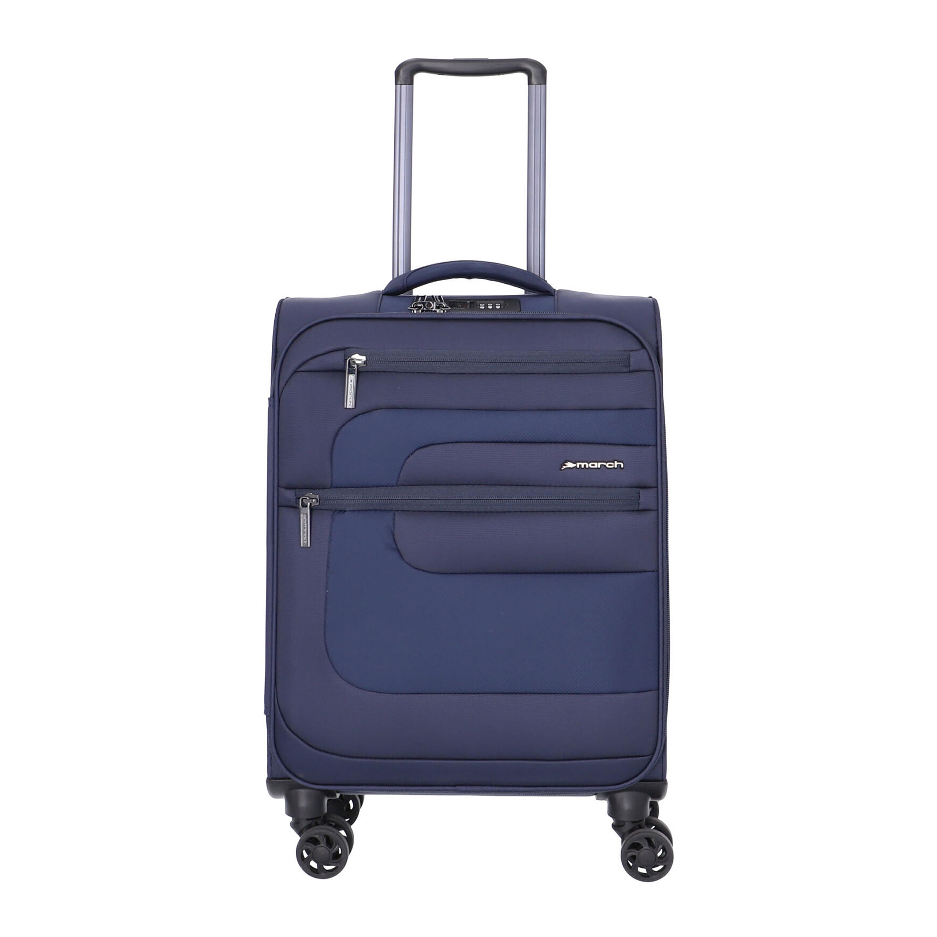 March Classic 4-Rad Trolley S  navy blue
