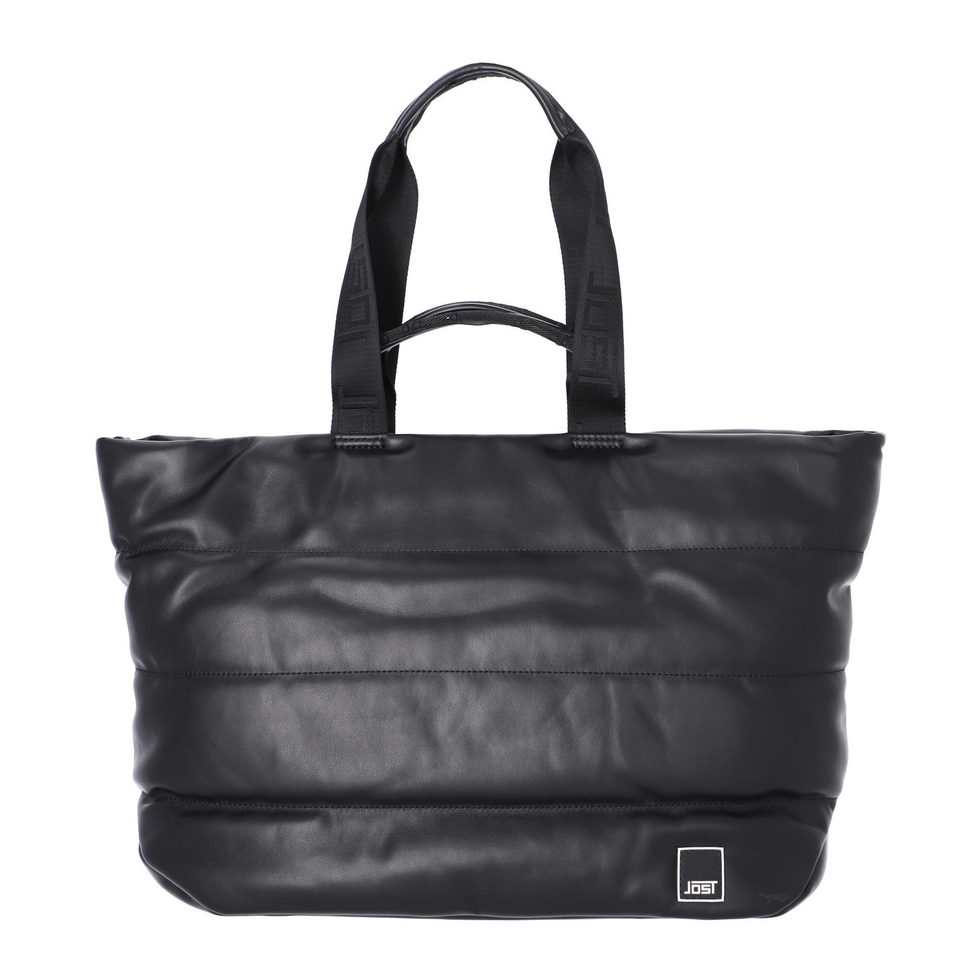 Jost Kaarina Shopper aus Recycling Material black