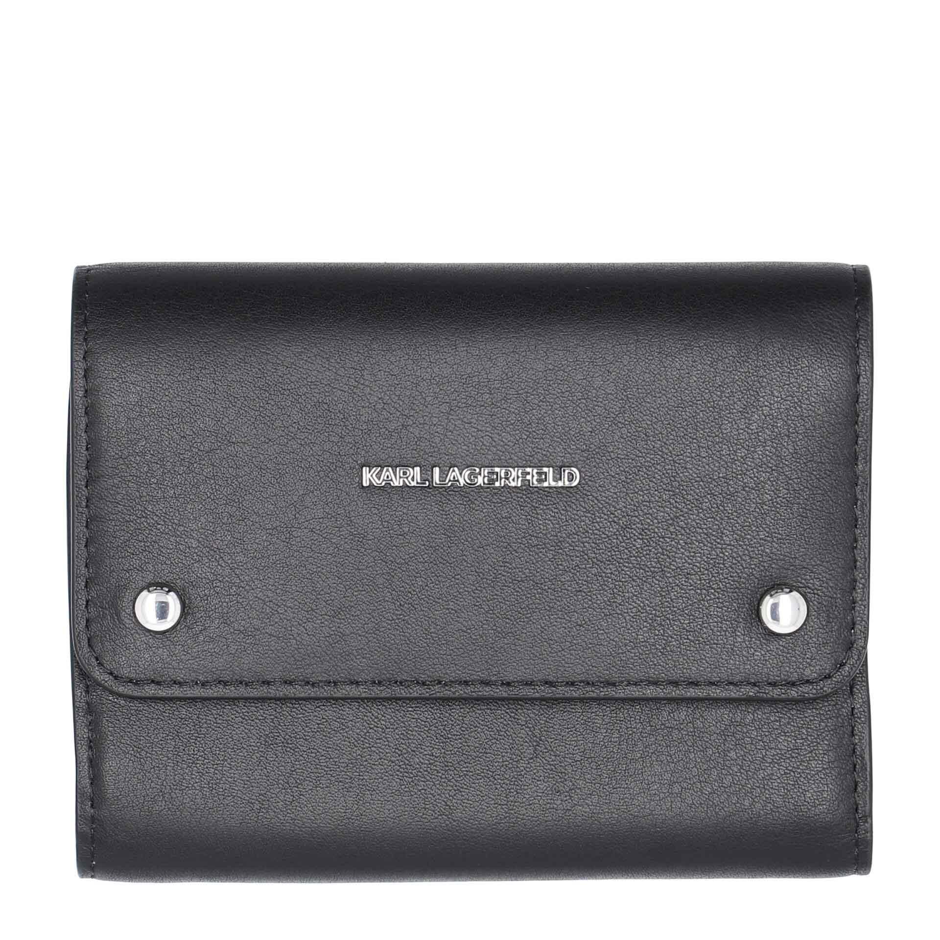 Karl Lagerfeld K/Ikon  Damengeldbörse black