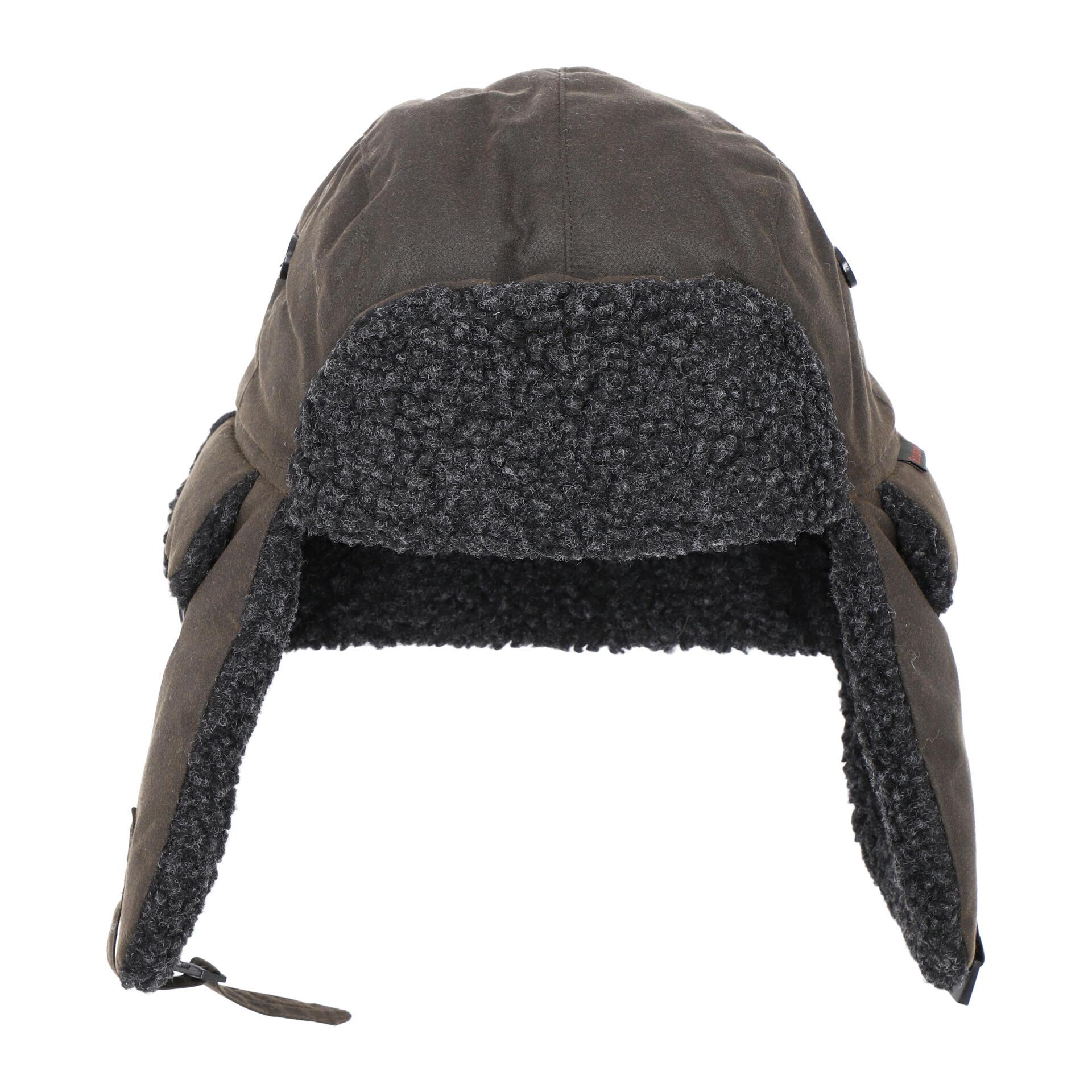 Fleece Lined Mütze L olive