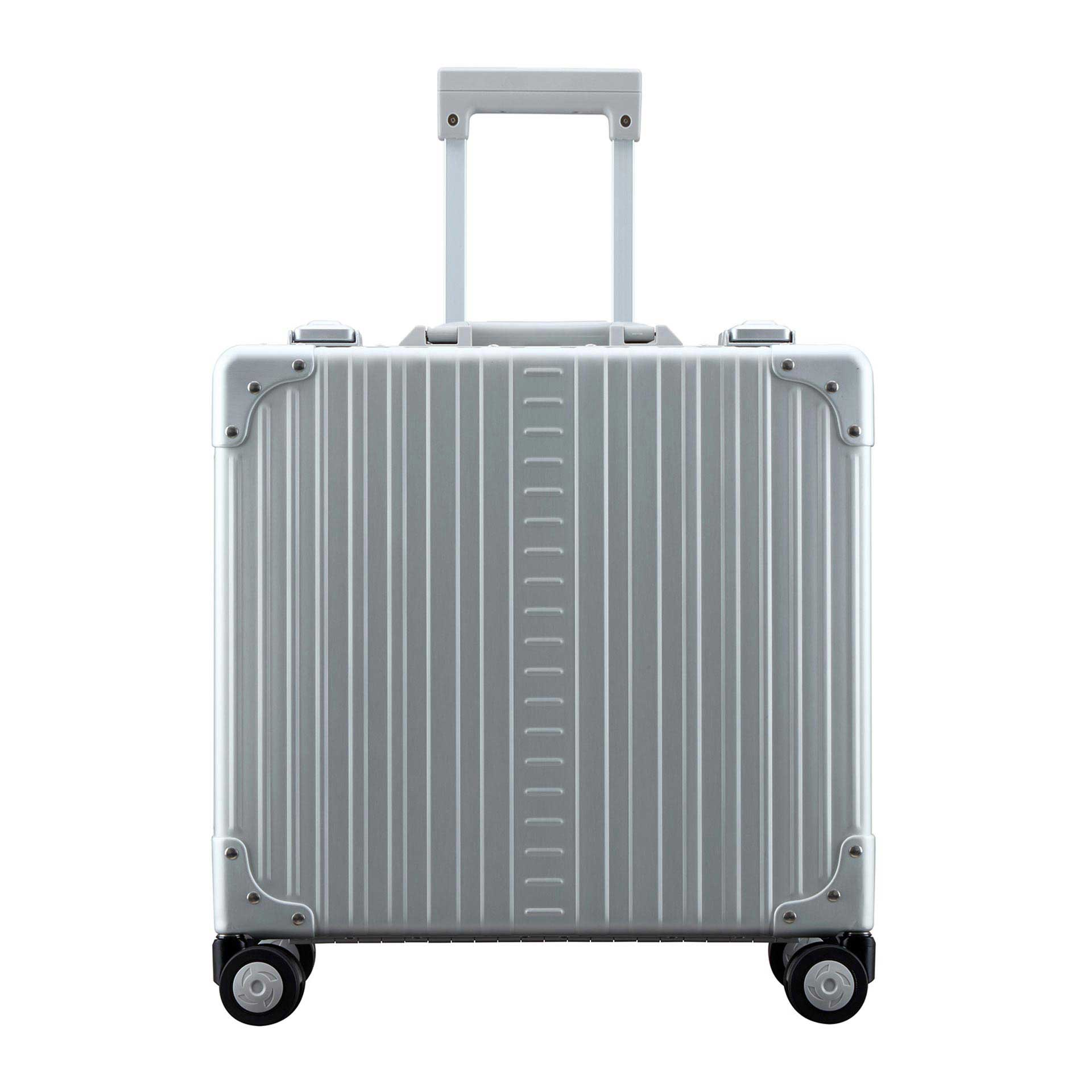 Aleon Deluxe 2-Rad Laptop Koffer platinum