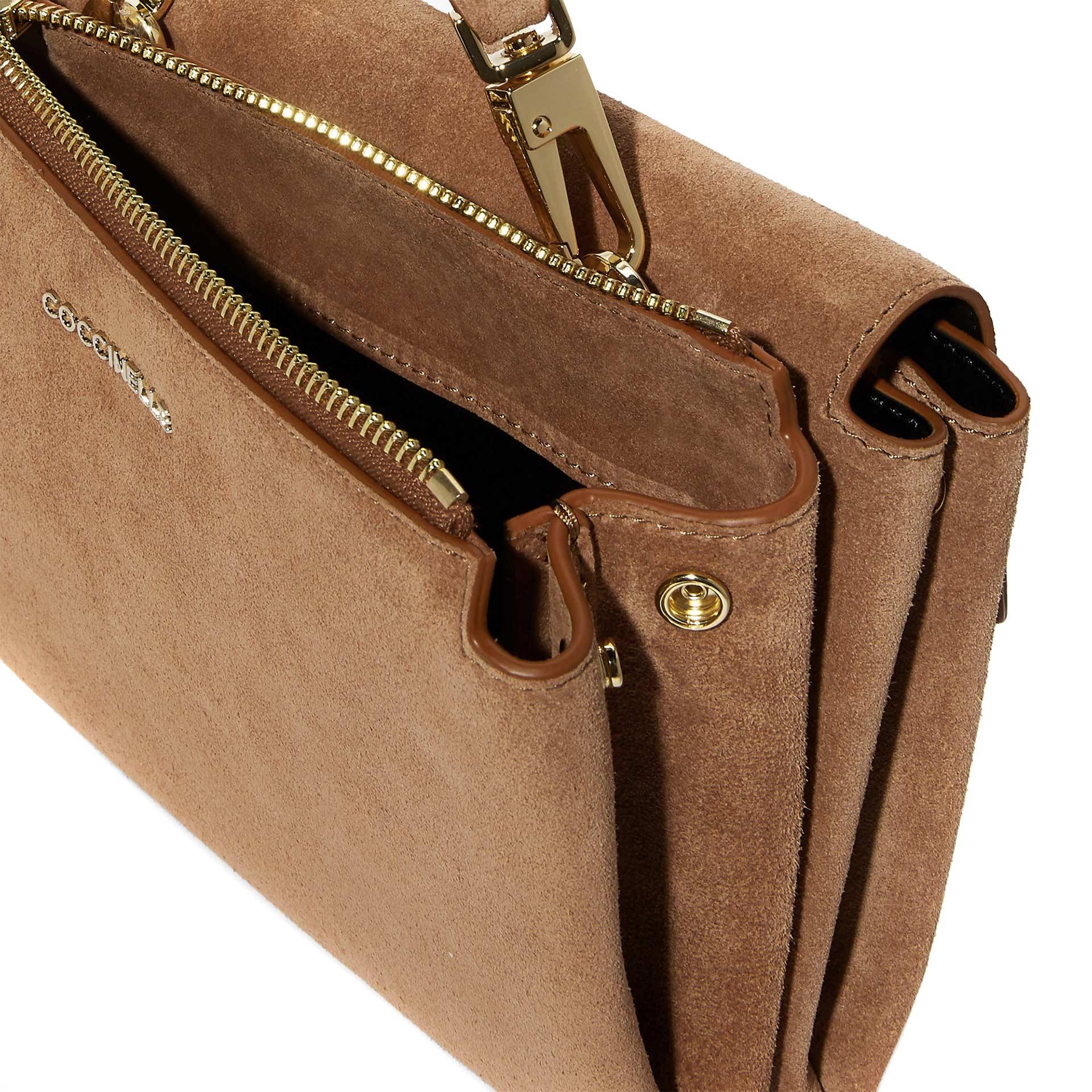 Arlettis  Suede Mini Bag aus Wildleder tobacco