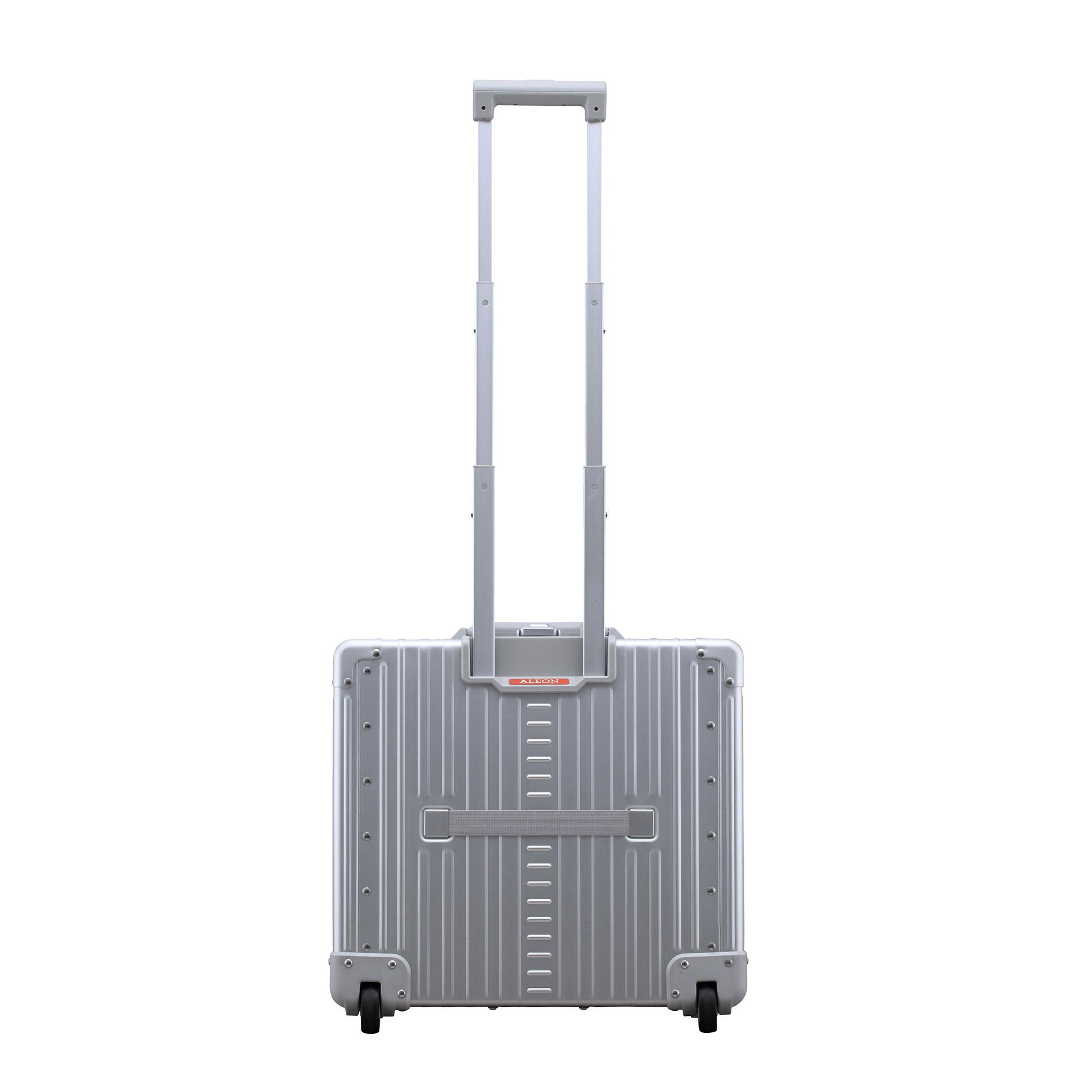 Aleon Wheel Pilot Case Business Koffer platinum