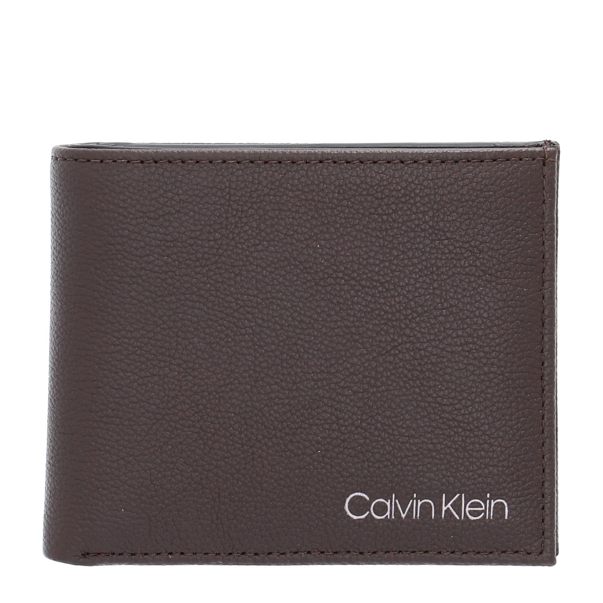 Calvin Klein 5 CC/W Geldbörse dark brown