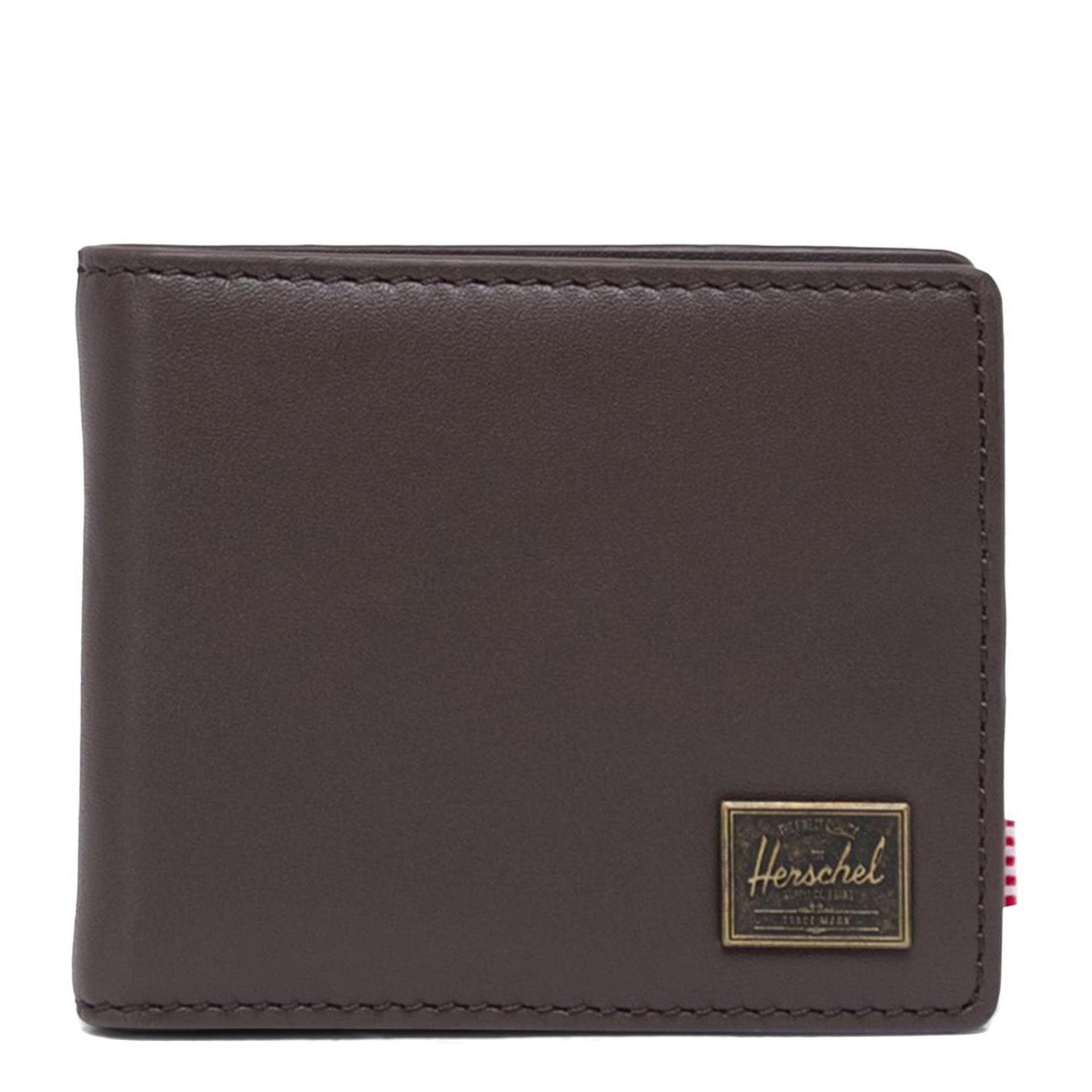 Herschel Hank Geldbörse aus Leder brown