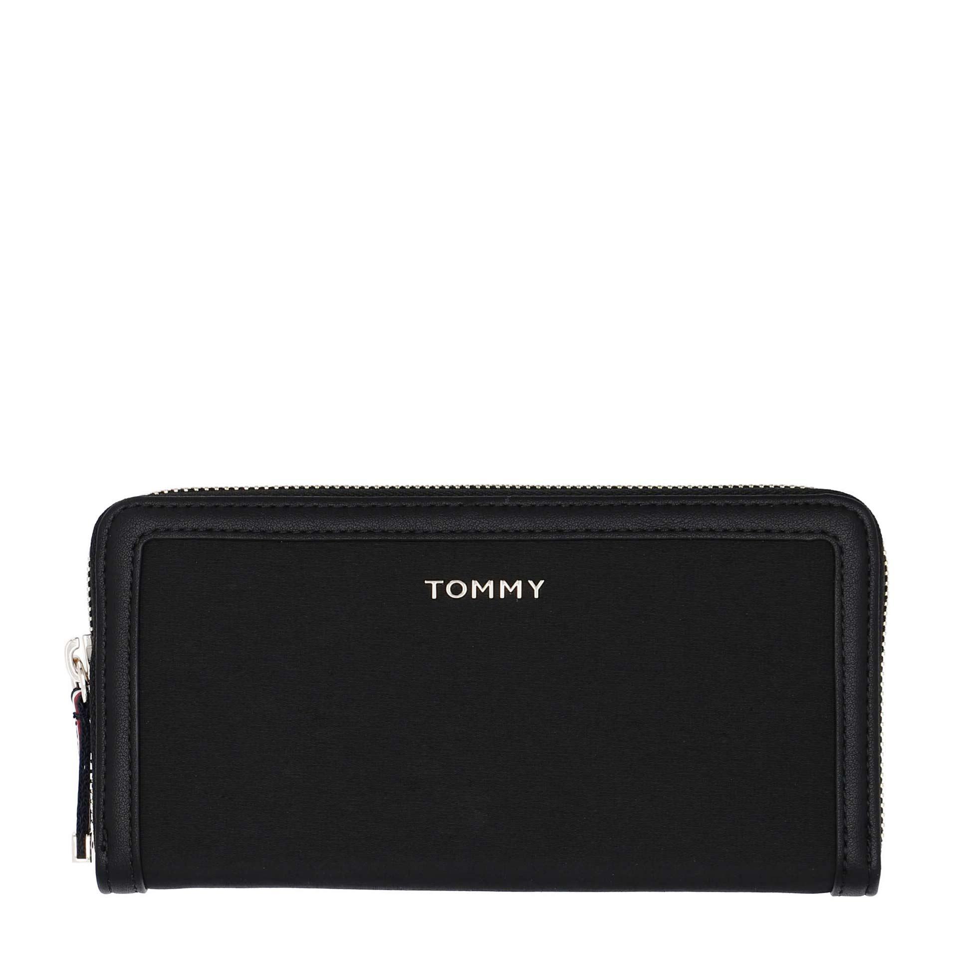 Tommy Hilfiger Nylon Damen Geldbörse black
