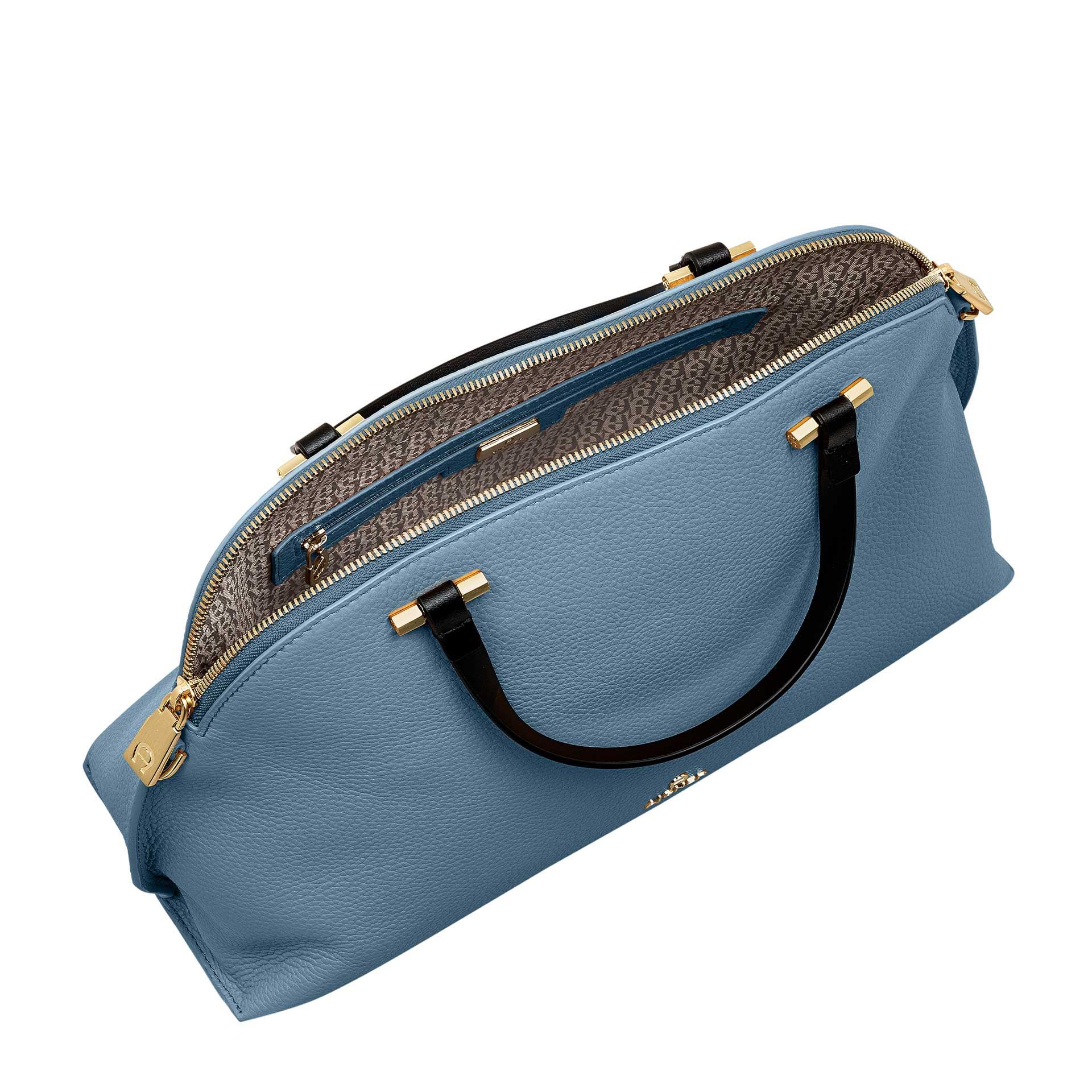 Aigner Evita Handtasche M dusk blue