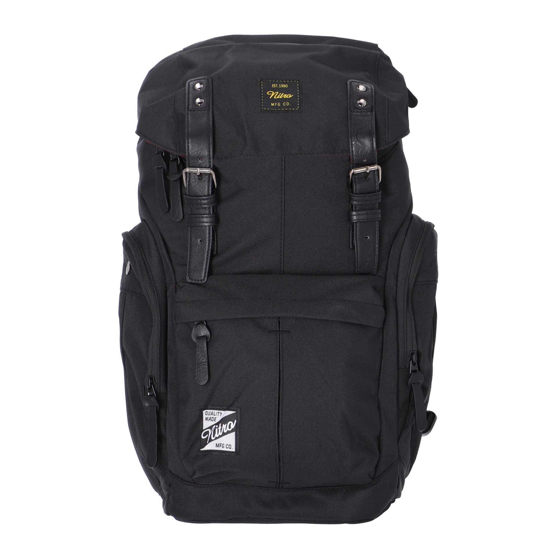 Nitro Daypacker Rucksack true black