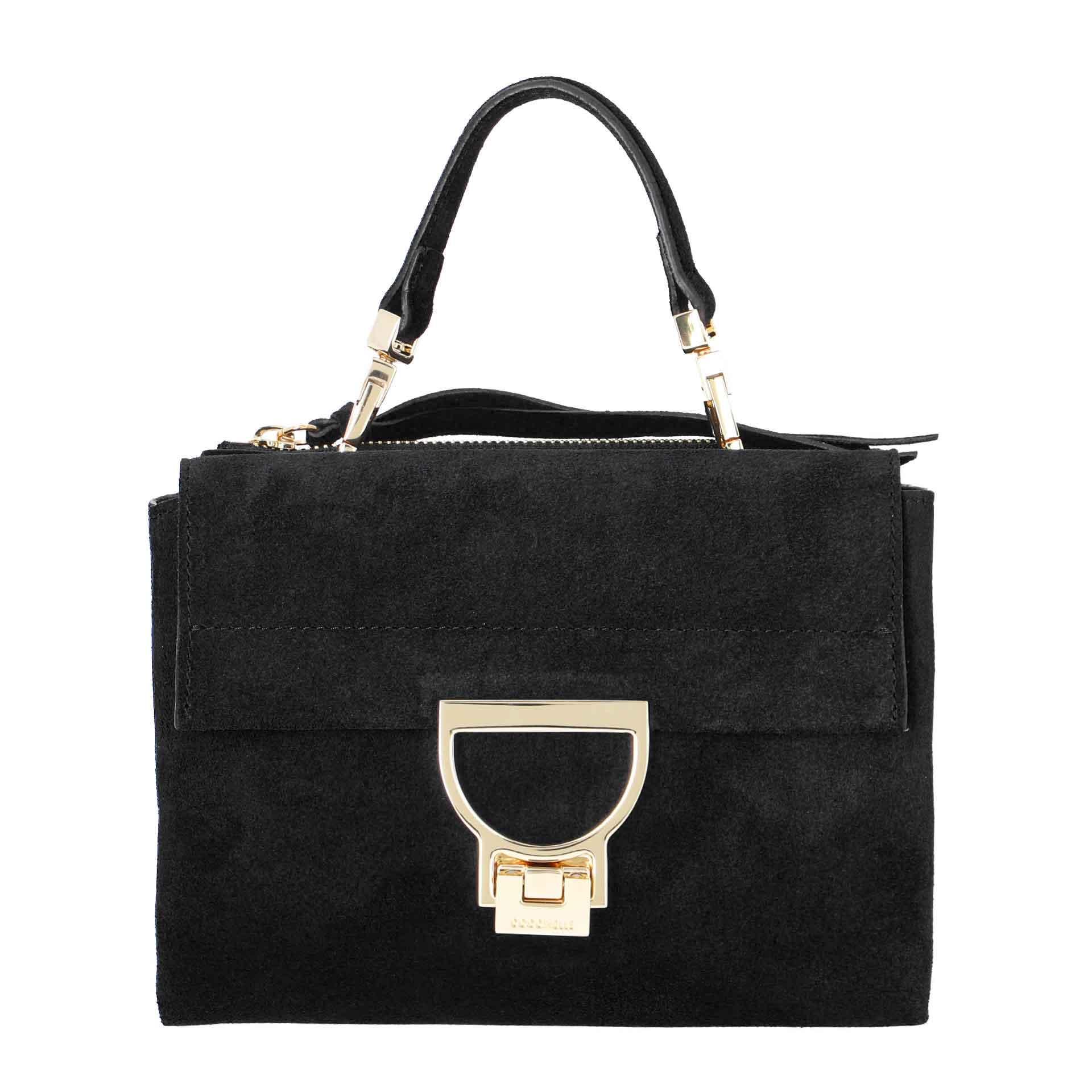 Coccinelle Arlettis  Suede Mini Bag noir