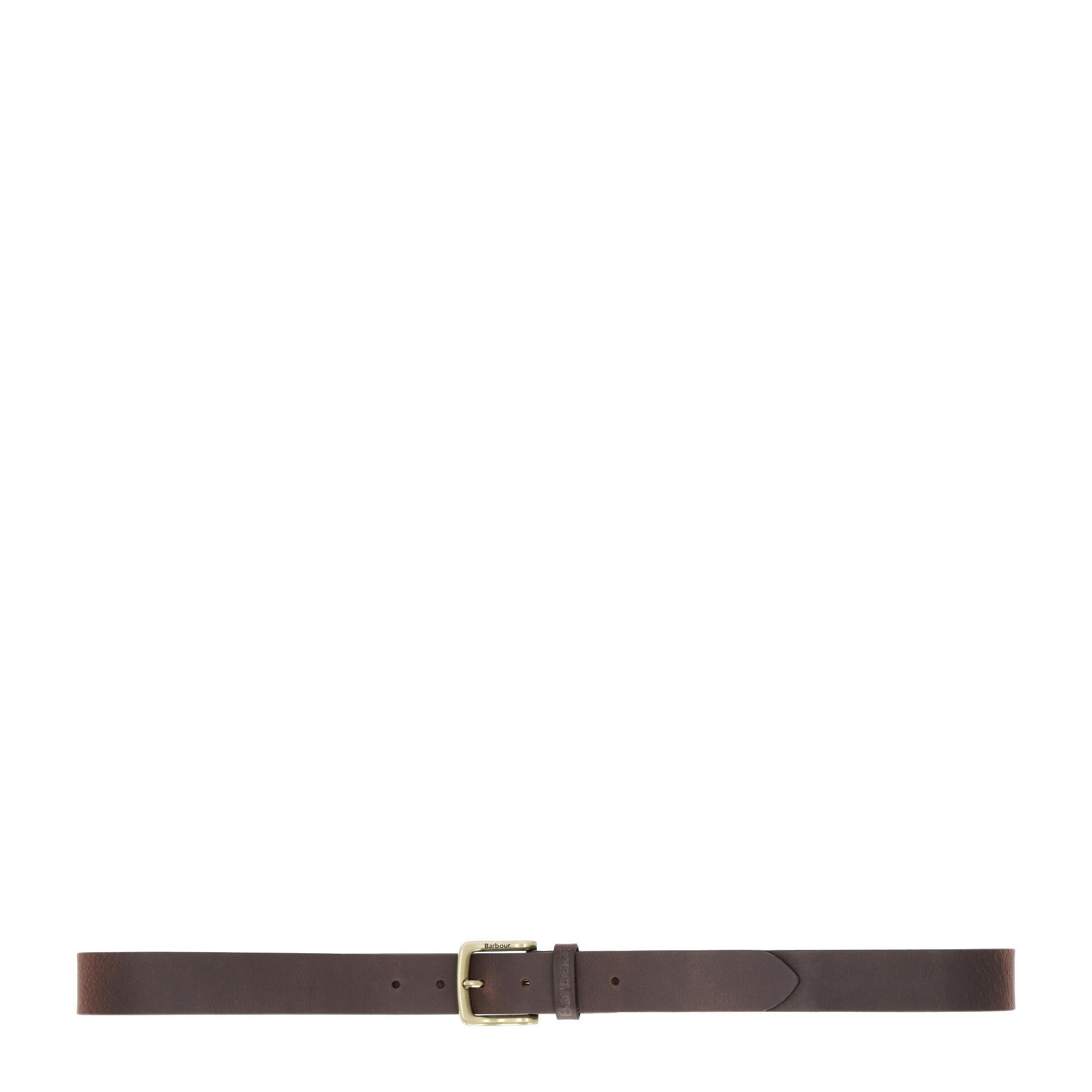 Barbour Oakworth Gürtel mit Geschenkbox 120 cm dark brown