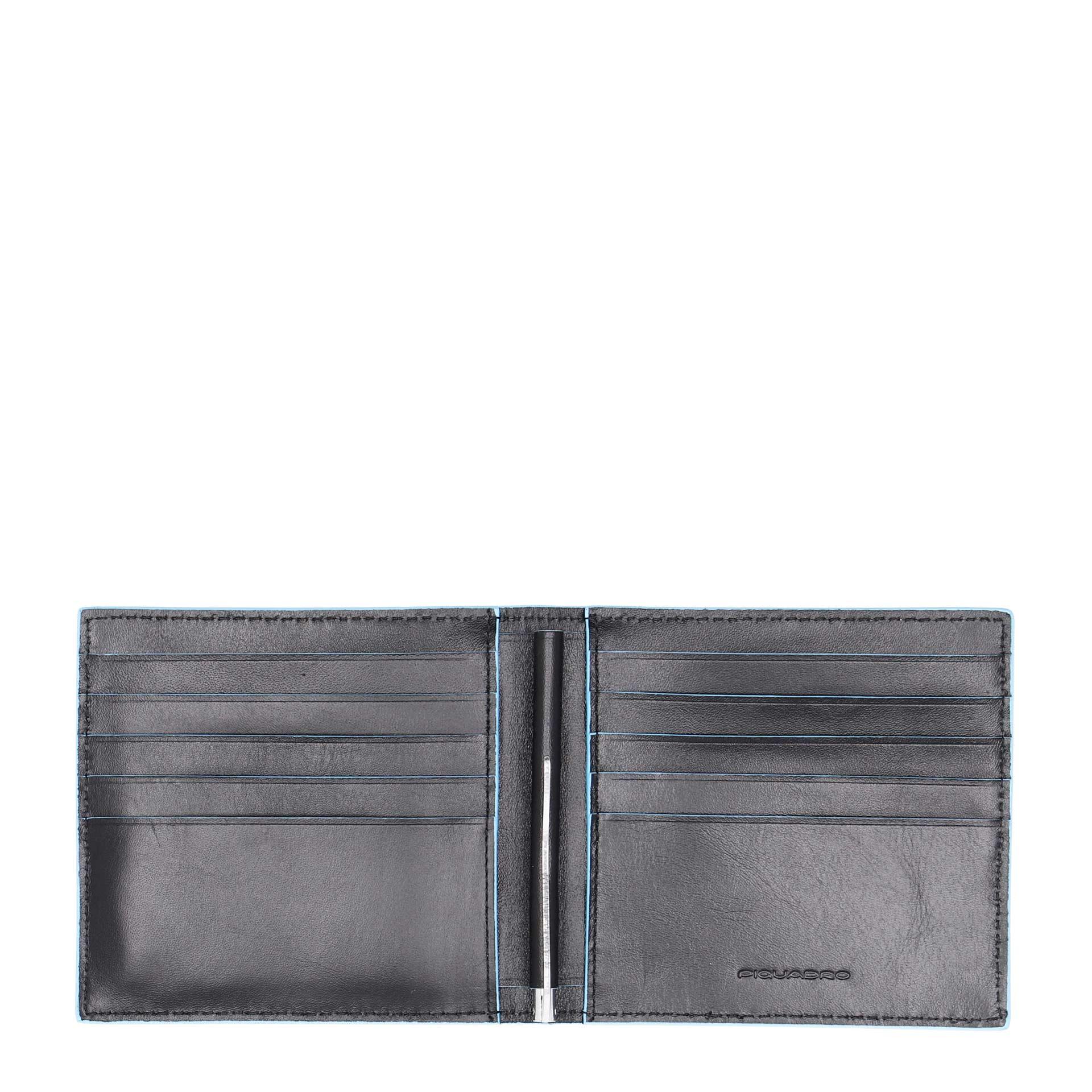 Herren Geldbörse mit Geldklammer black