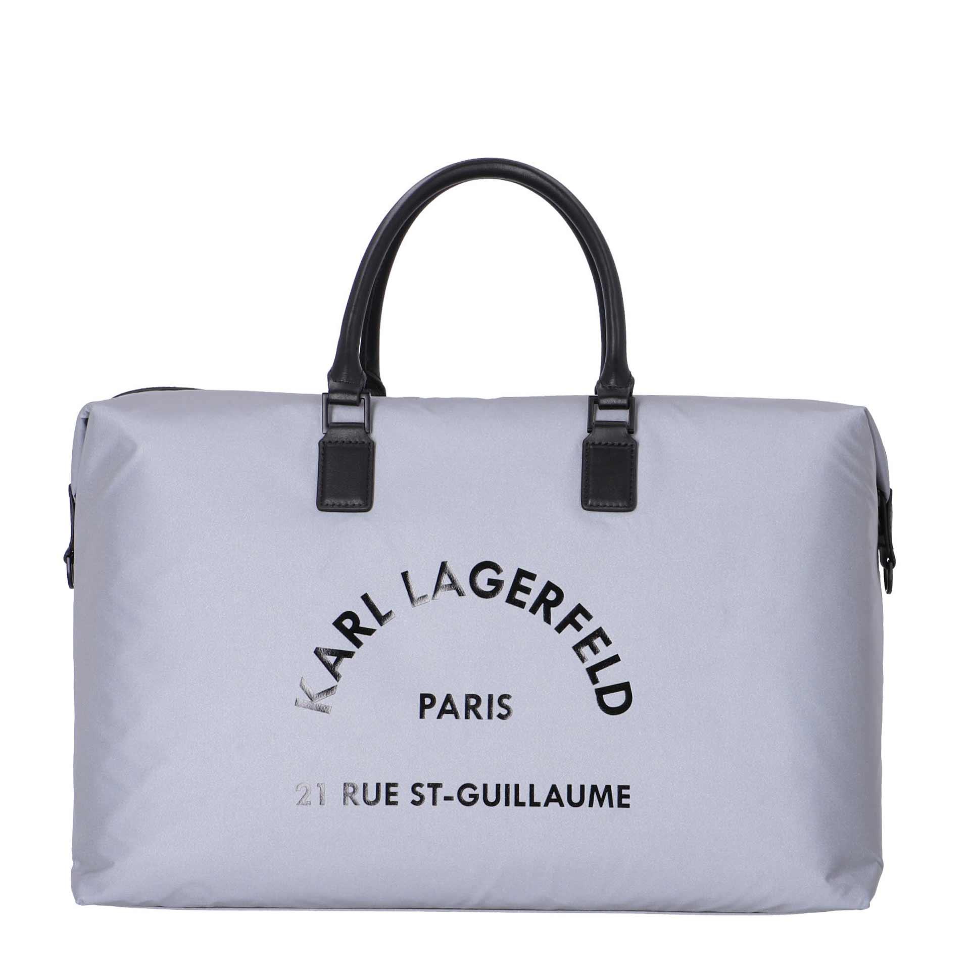 Karl Lagerfeld Rue St. Guillaume Weekender reflective