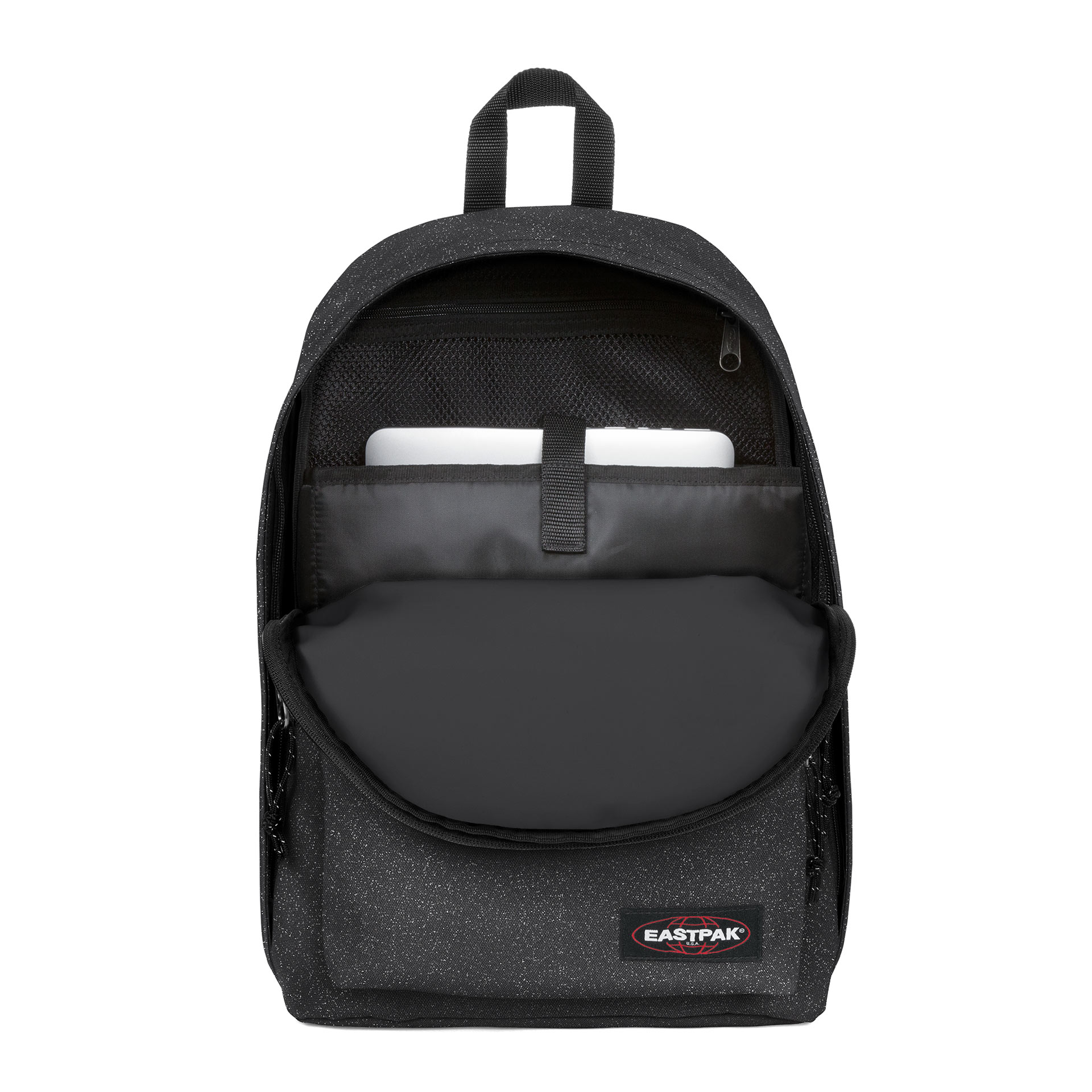 Out of Office Rucksack sparkly grey