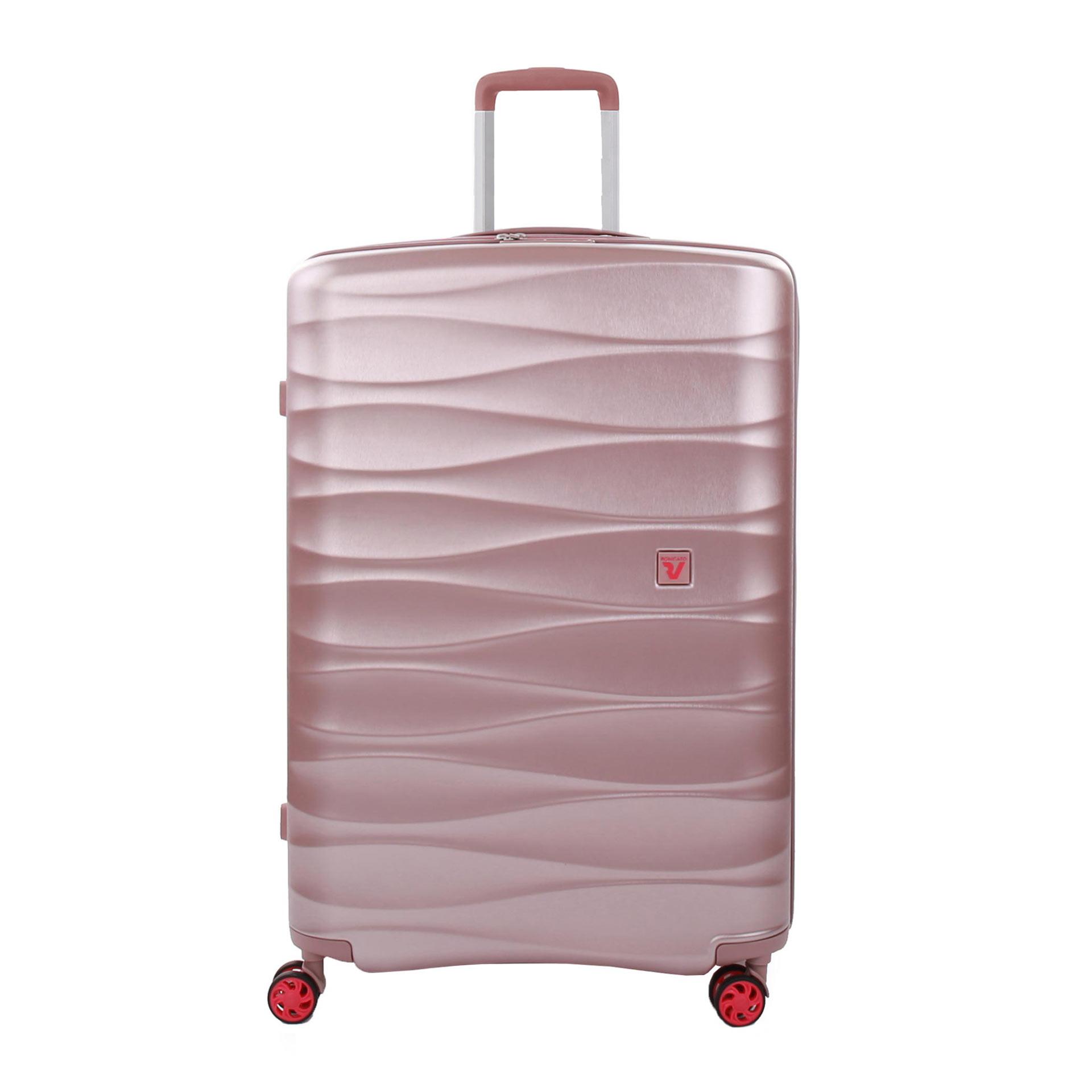 Roncato STELLAR Trolley L mit 4 Rollen rosa
