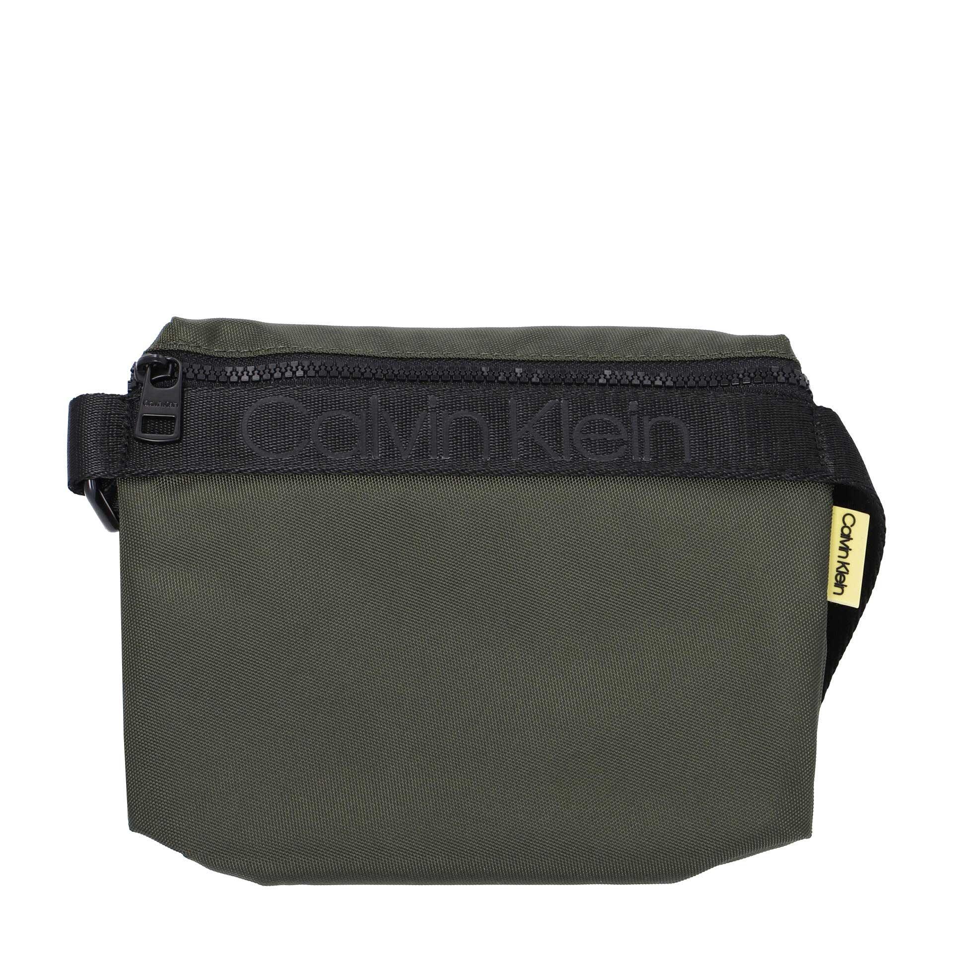 Calvin Klein Nastro Logo Mini Umhängetasche dark olive
