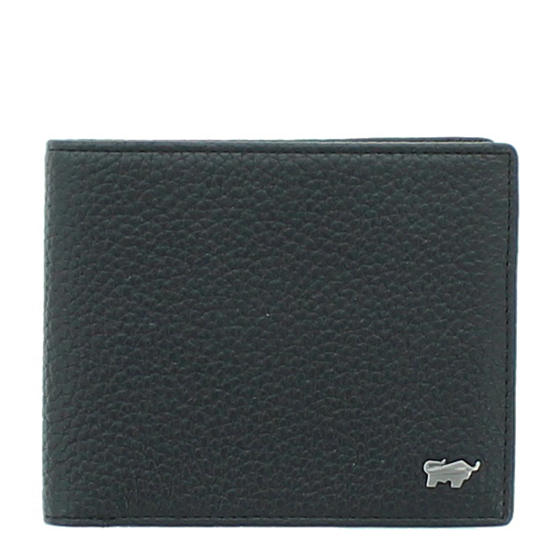 Braun Büffel Turin  RFID Geldbörse 4CS schwarz