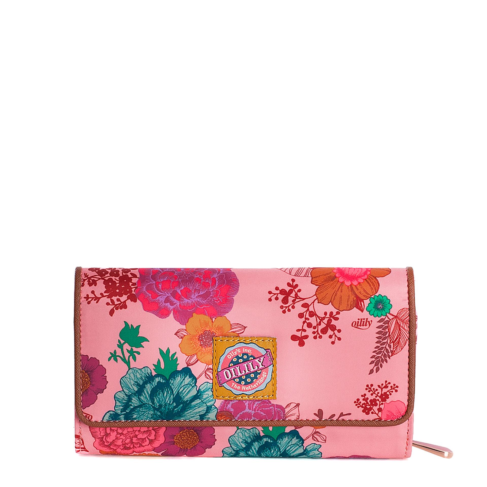 Oilily Colour Splash Damengeldbörse camellia rose