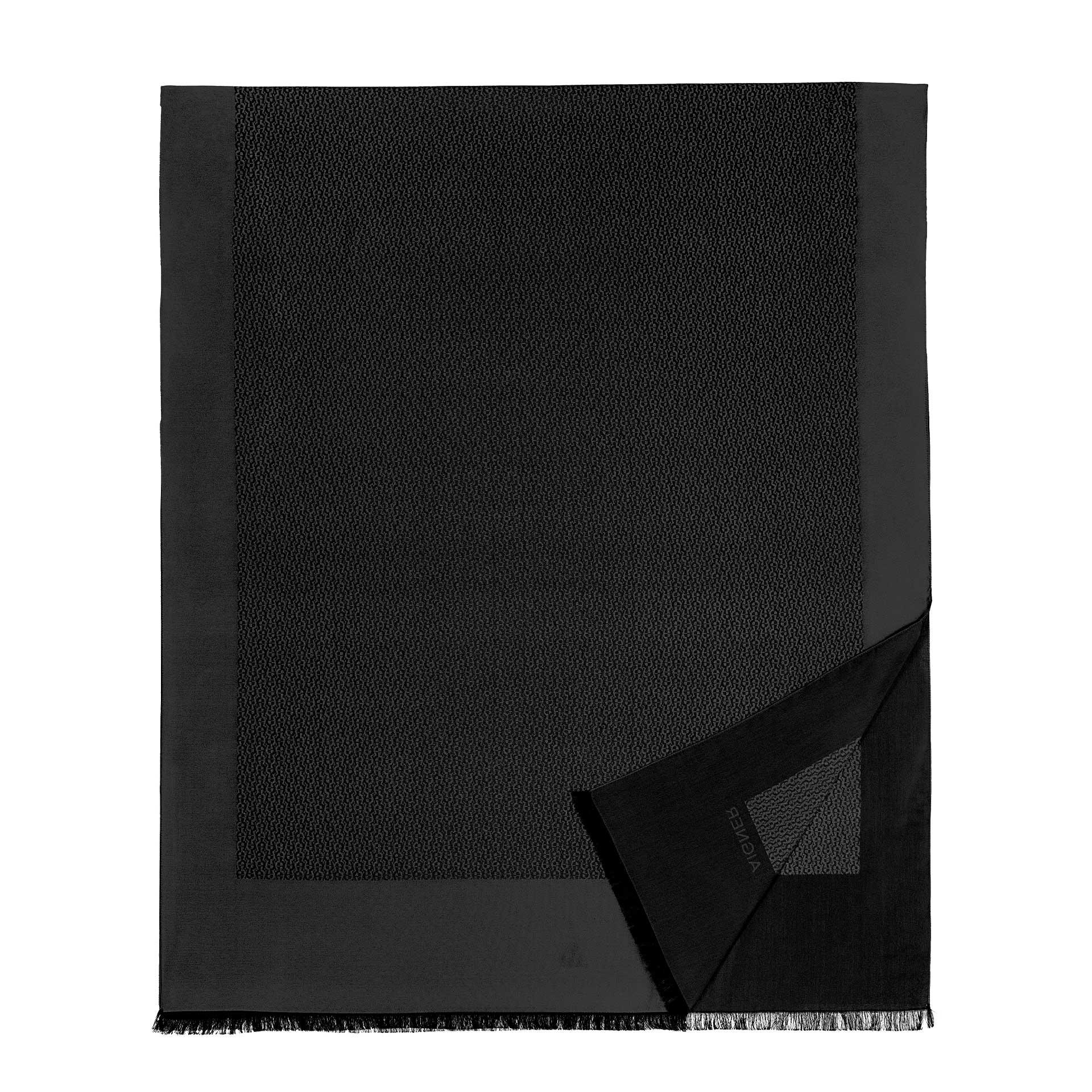 Aigner Logo Stola 70 x 180 cm  black