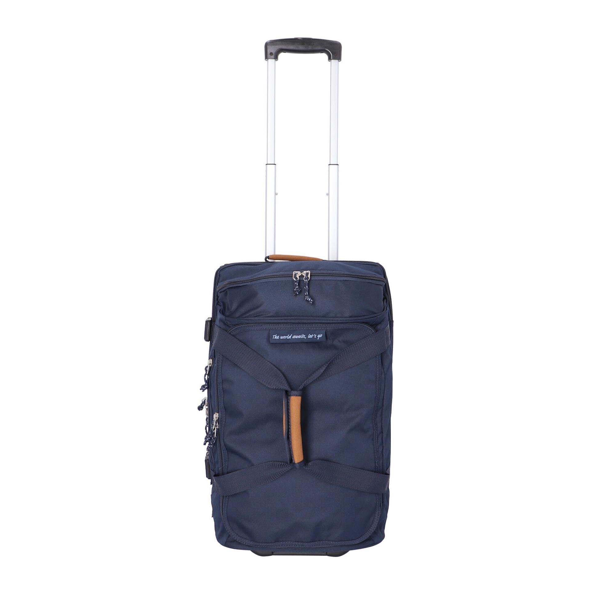 Alltrail Reisetasche mit Rollen 55cm navy