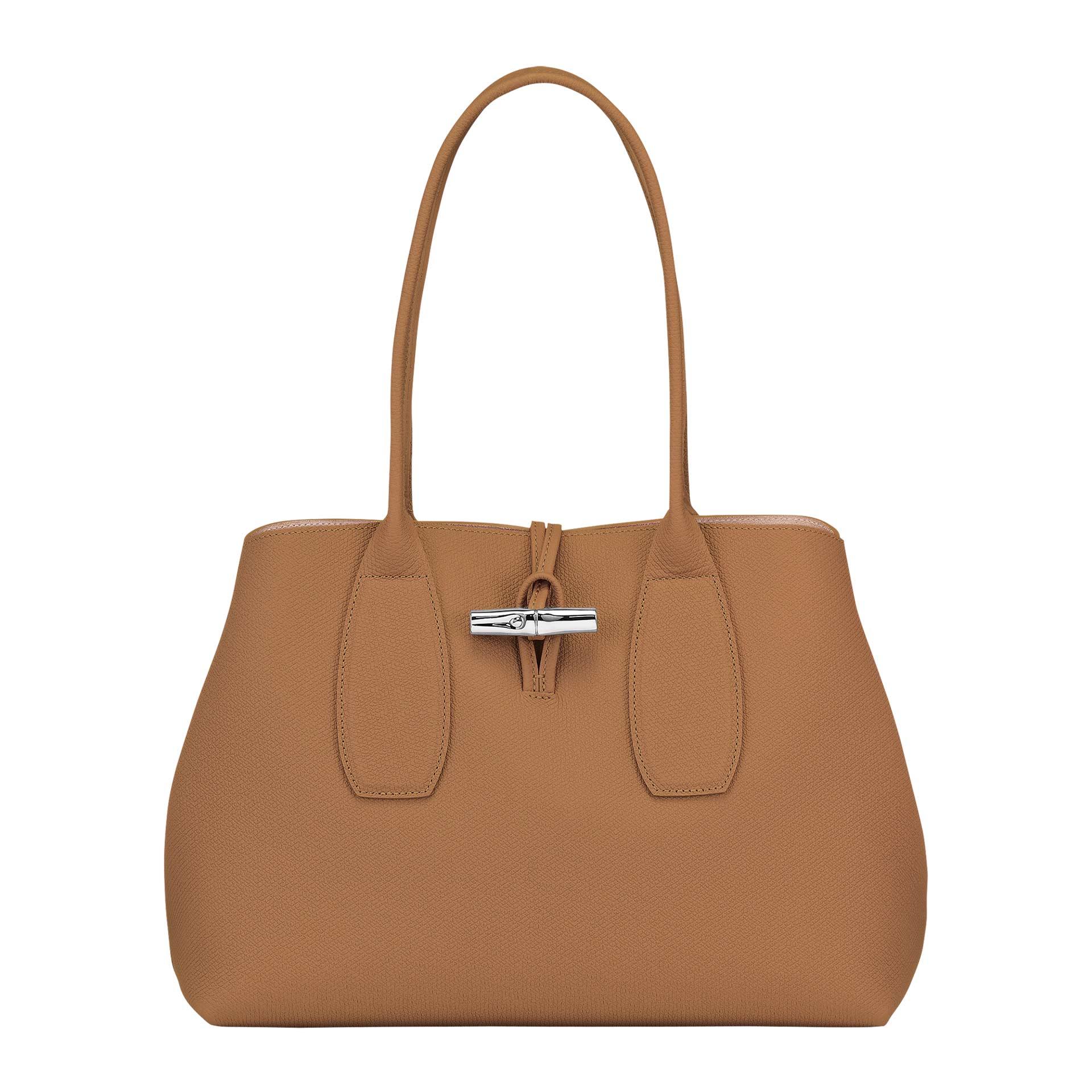 Longchamp Roseau Schultertasche natural