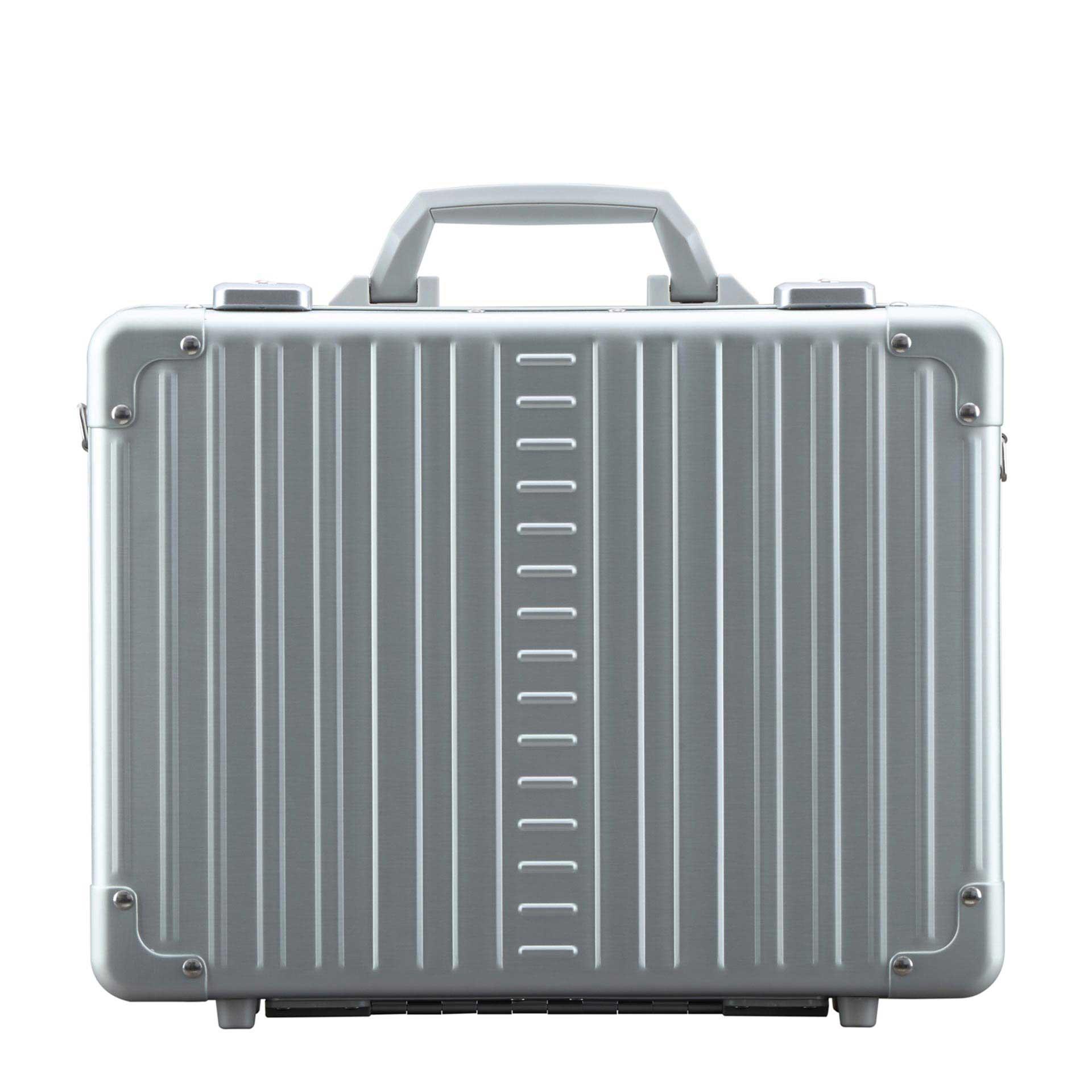 Aleon Attaché Laptop Koffer platinum