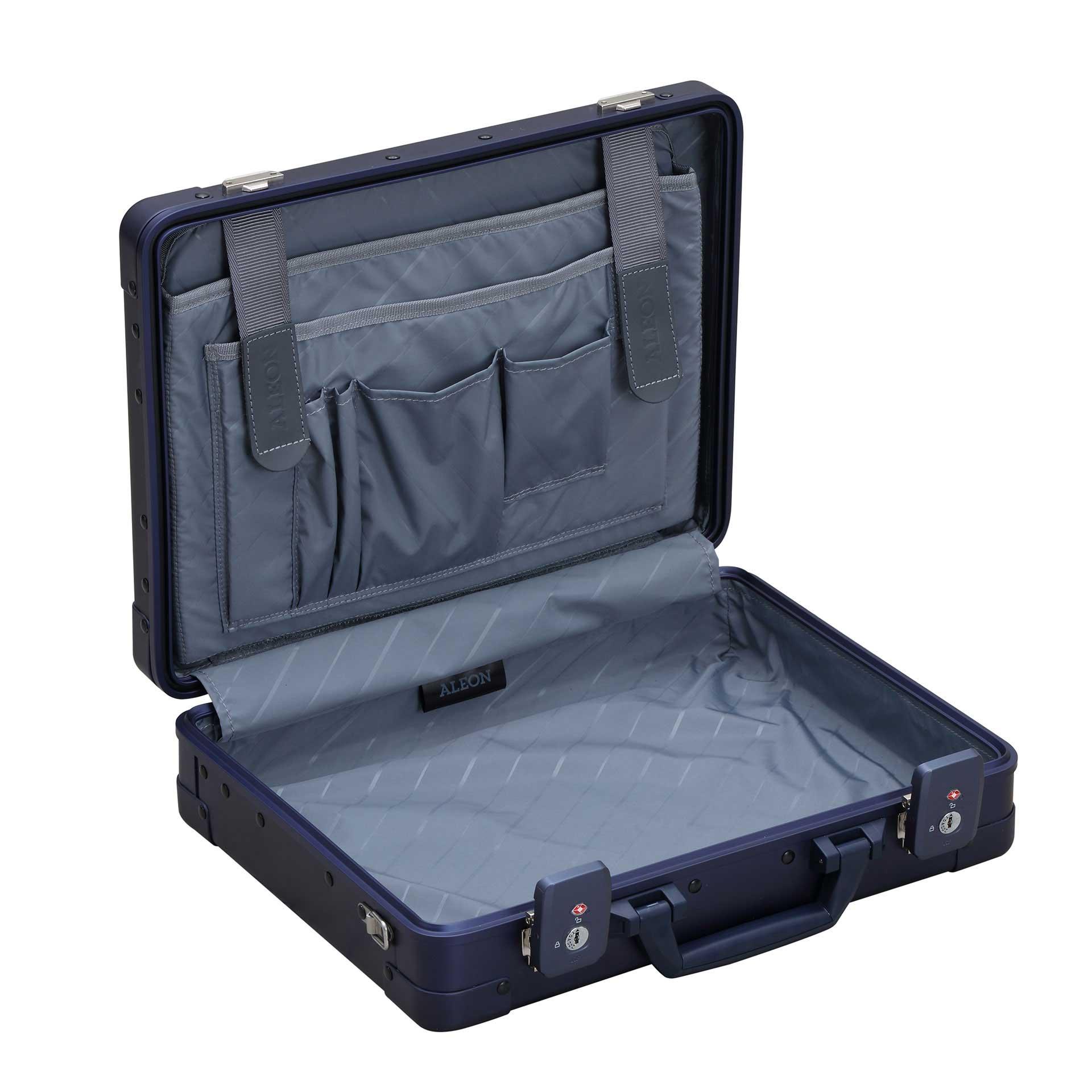 Aleon Attaché Laptop Koffer sapphire