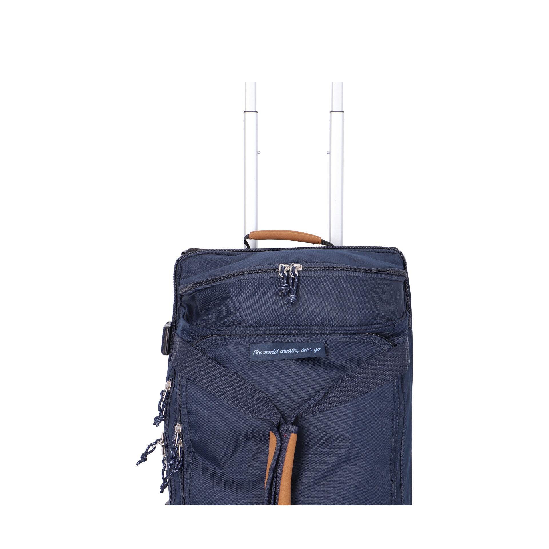 American Tourister Alltrail Reisetasche mit Rollen 55cm navy