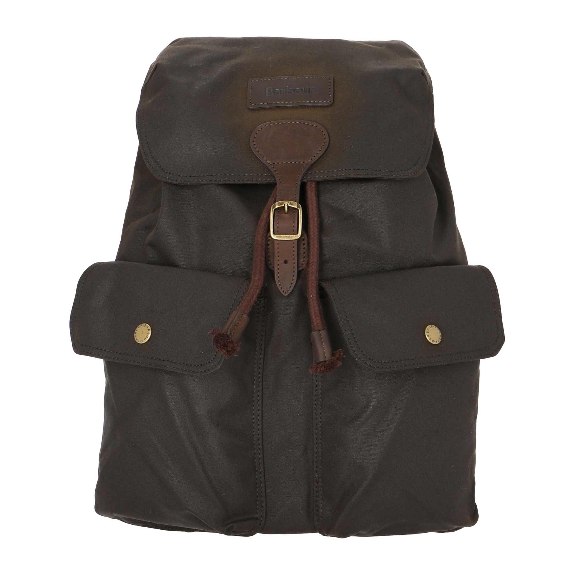 Barbour Beaufort Rucksack olive