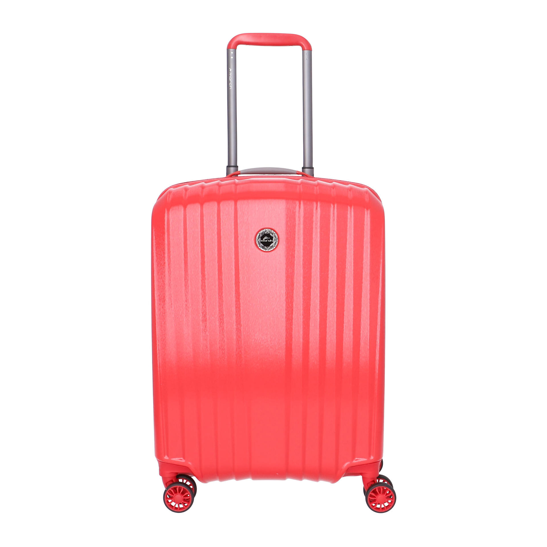 March Everest 4-Rad Trolley S red