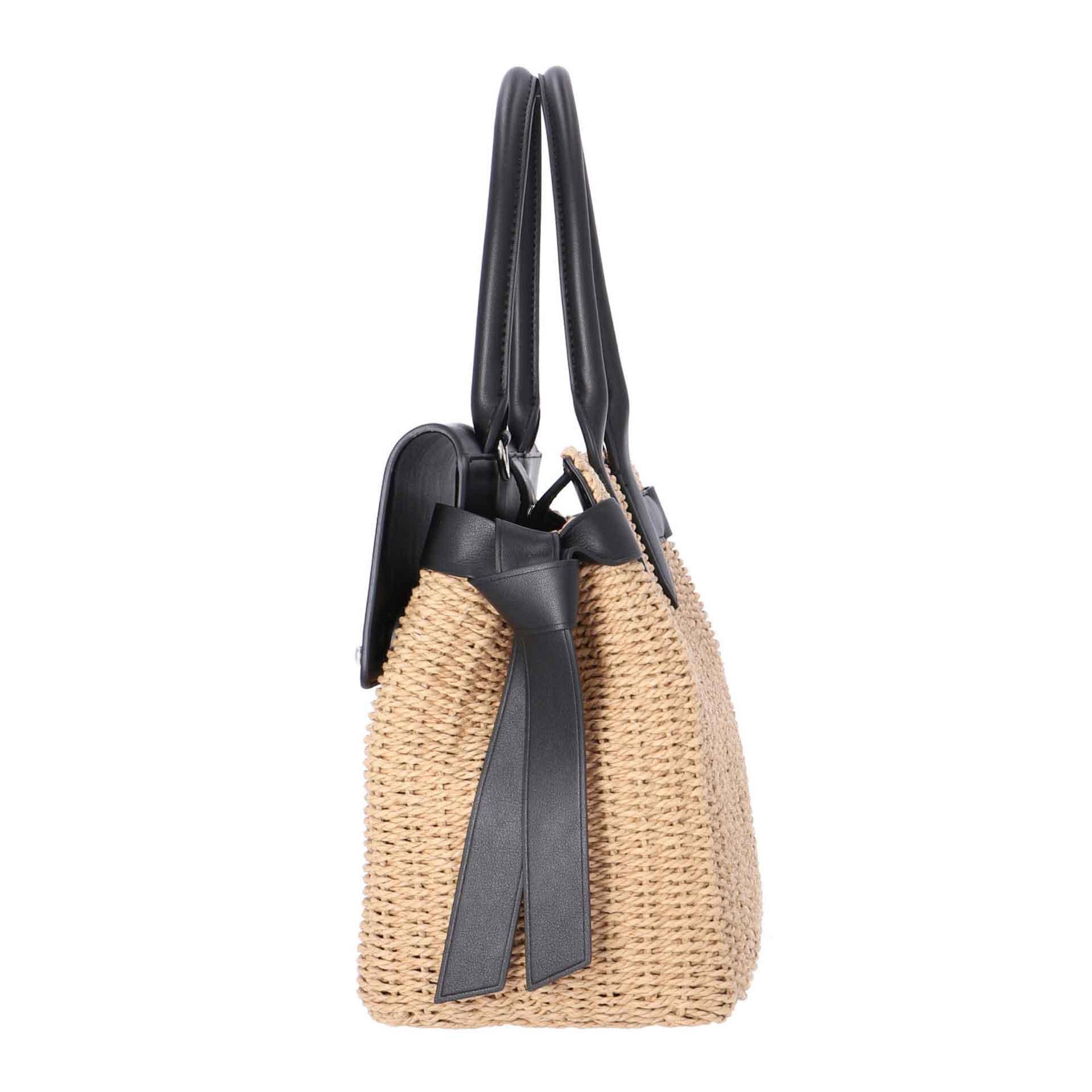 Karl Lagerfeld K/Ikon  Handtasche naturel black