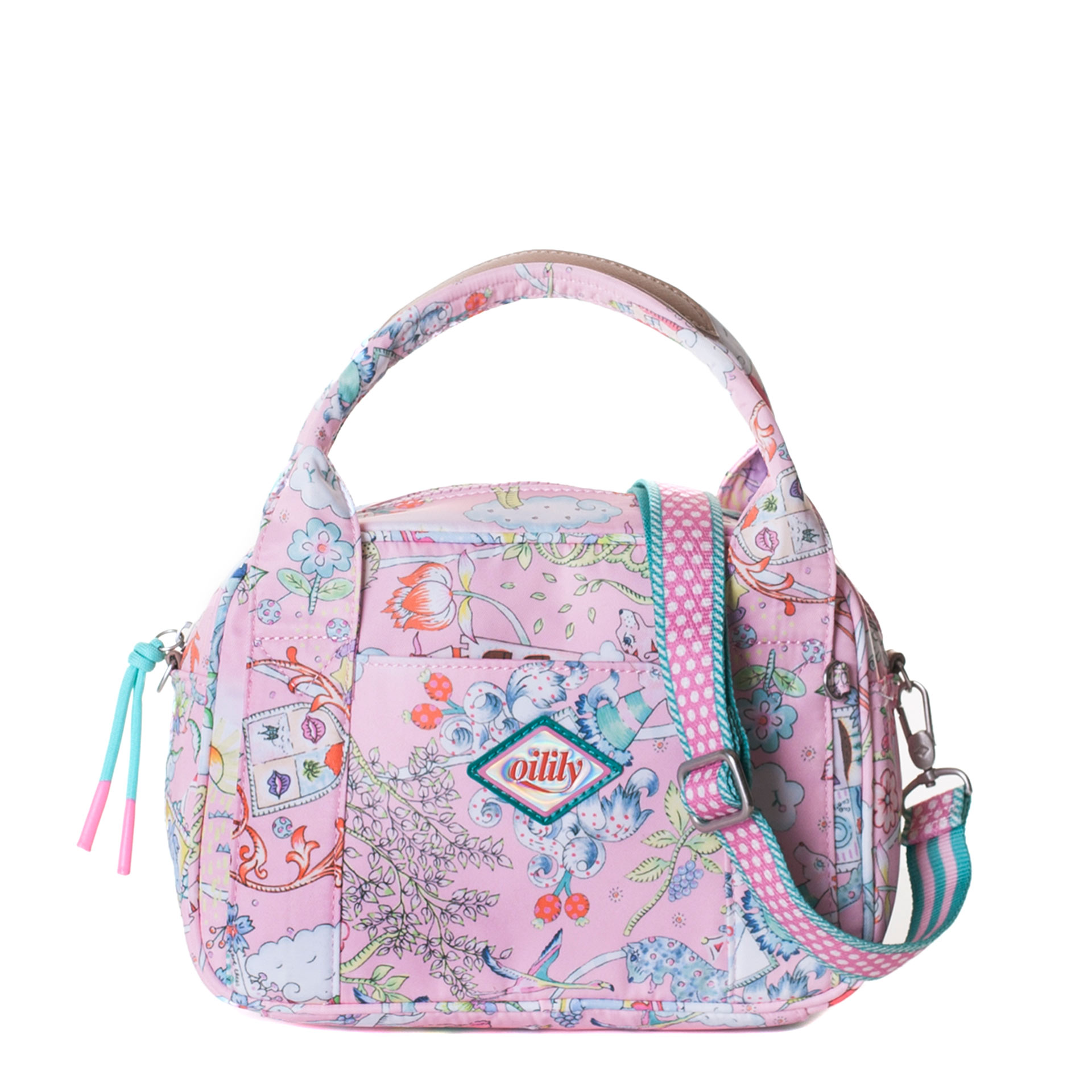 Oilily Castle in the Clouds Handtasche rose shadow