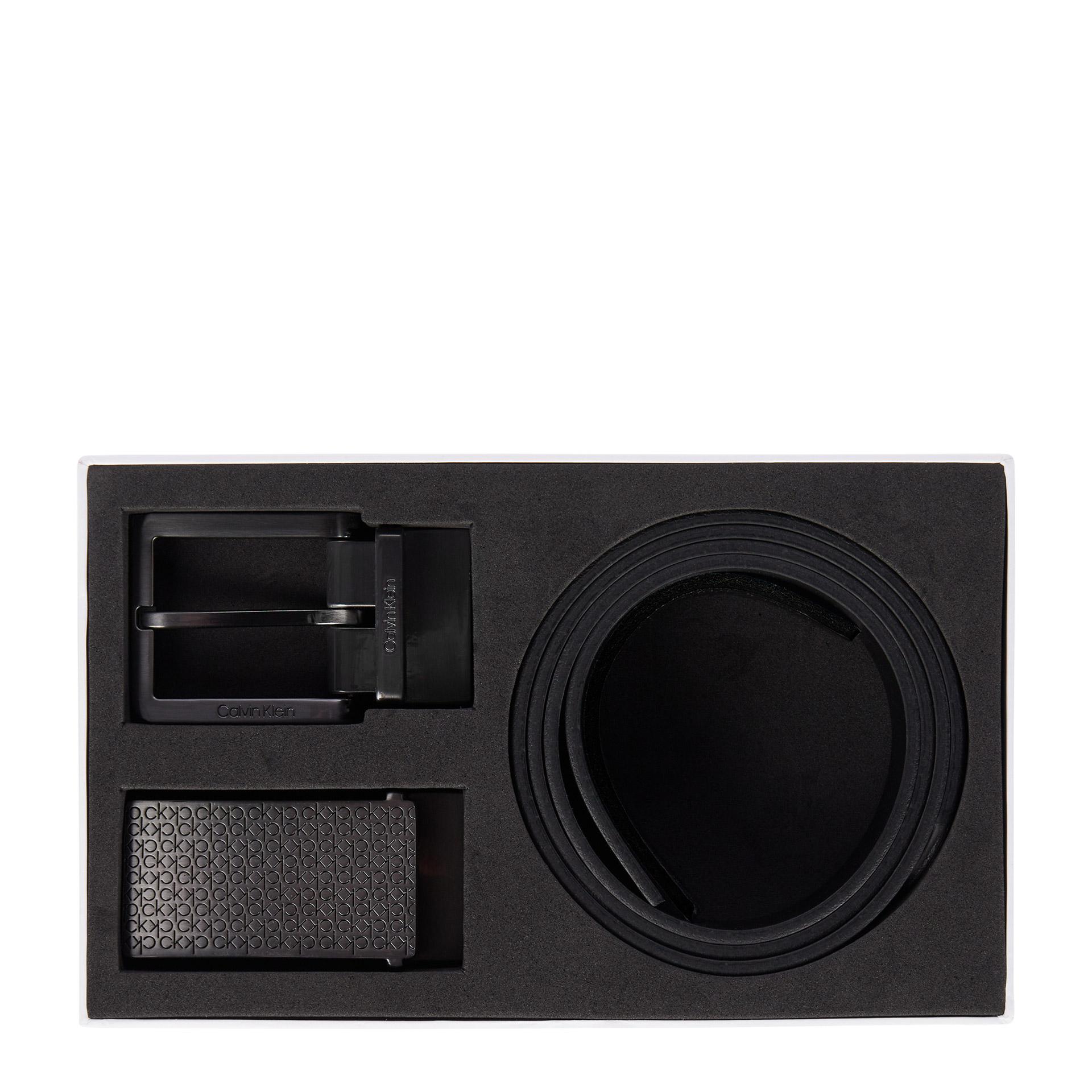 Calvin Klein Essential Geschenkset Gürtel 130 cm ck black