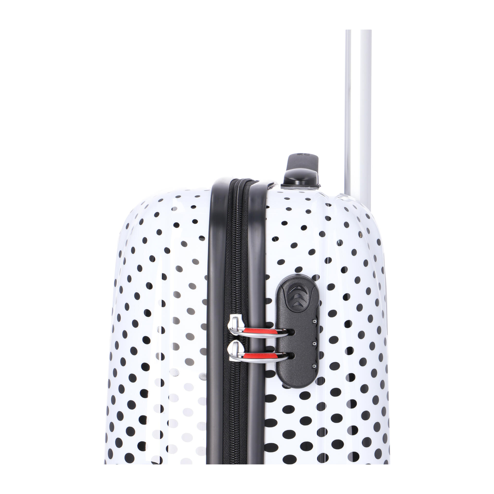 American Tourister Disney Legends Trolley mit 4 Rollen mickey mouse polka dot