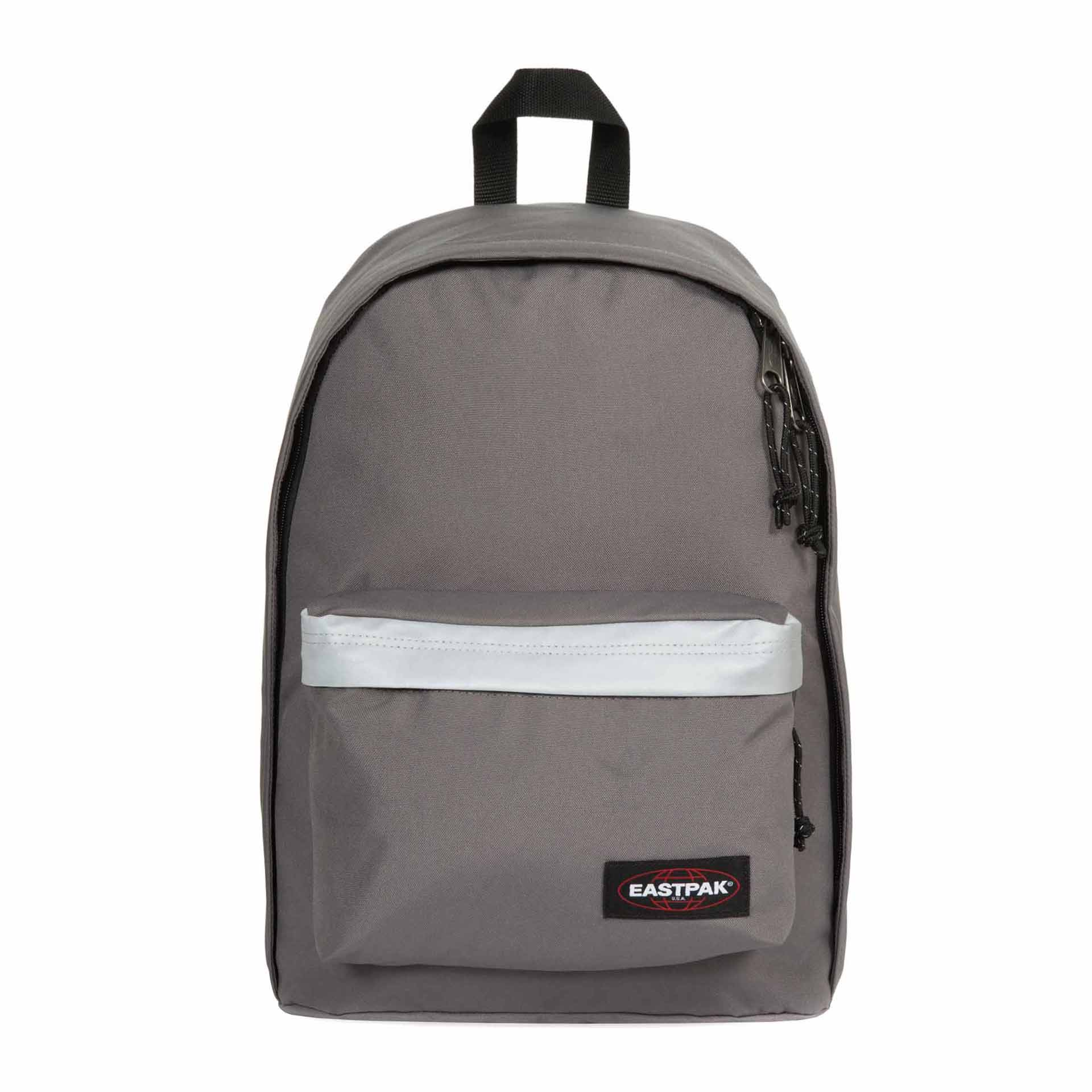 Eastpak Selection Out of Office Rucksack mit Reflektorstreifen reflective grey