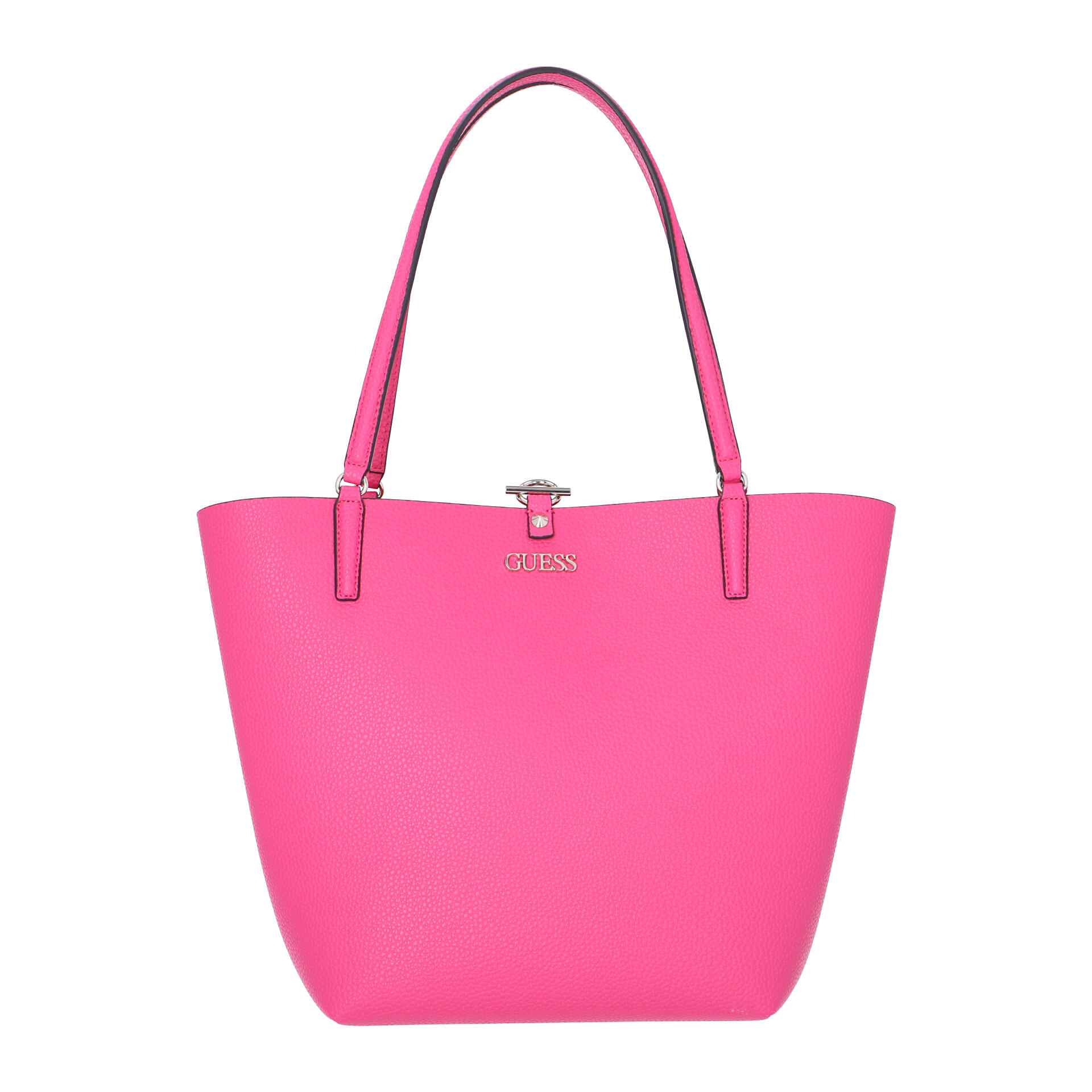 Guess Alby Wende-Shopper mit herausnehmbarer Clutch hibiscus coral