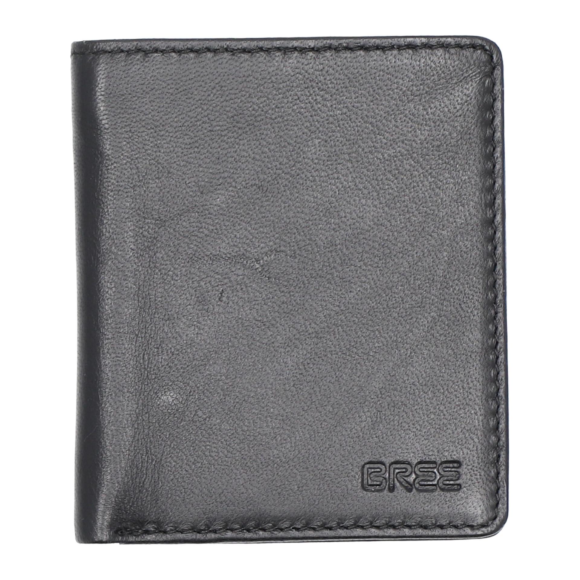 Bree Pocket 103 Geldbörse black