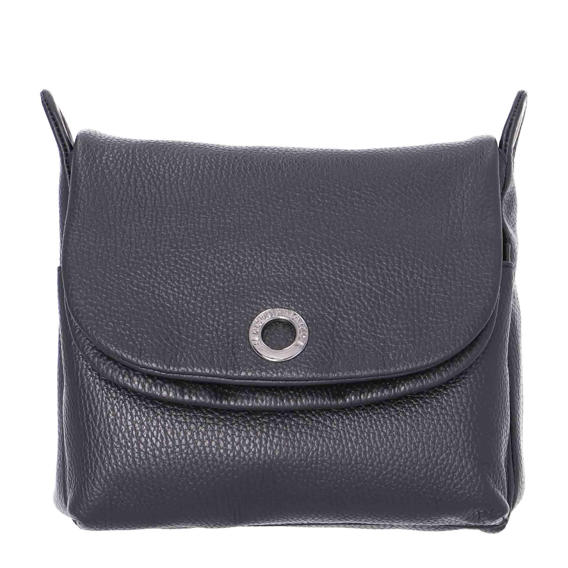 Mandarina Duck Mellow Leather Umhängetasche nero