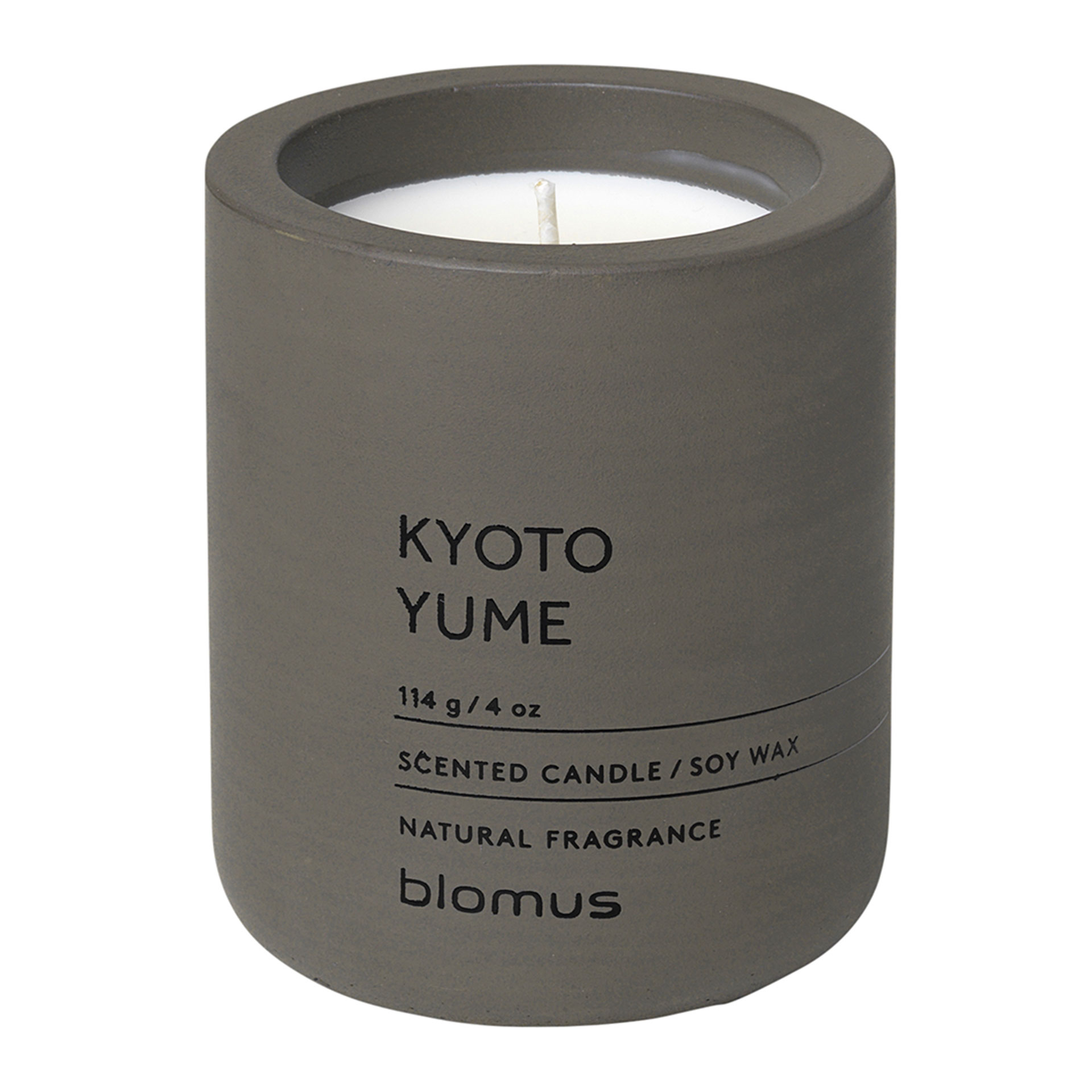blomus FRAGA Duftkerze S Kyoto Yume - Tarmac