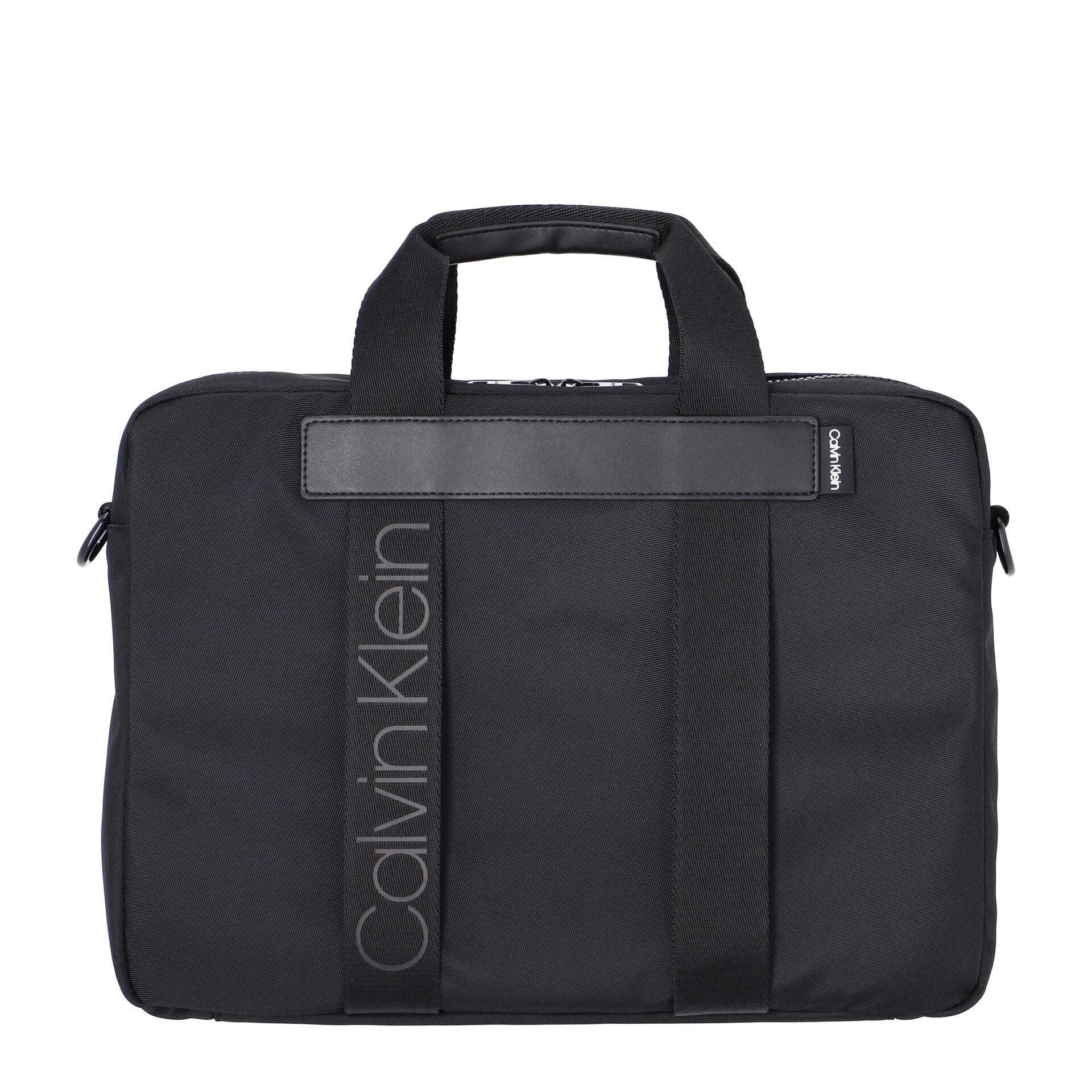 Calvin Klein Nastro Logo Laptoptasche black