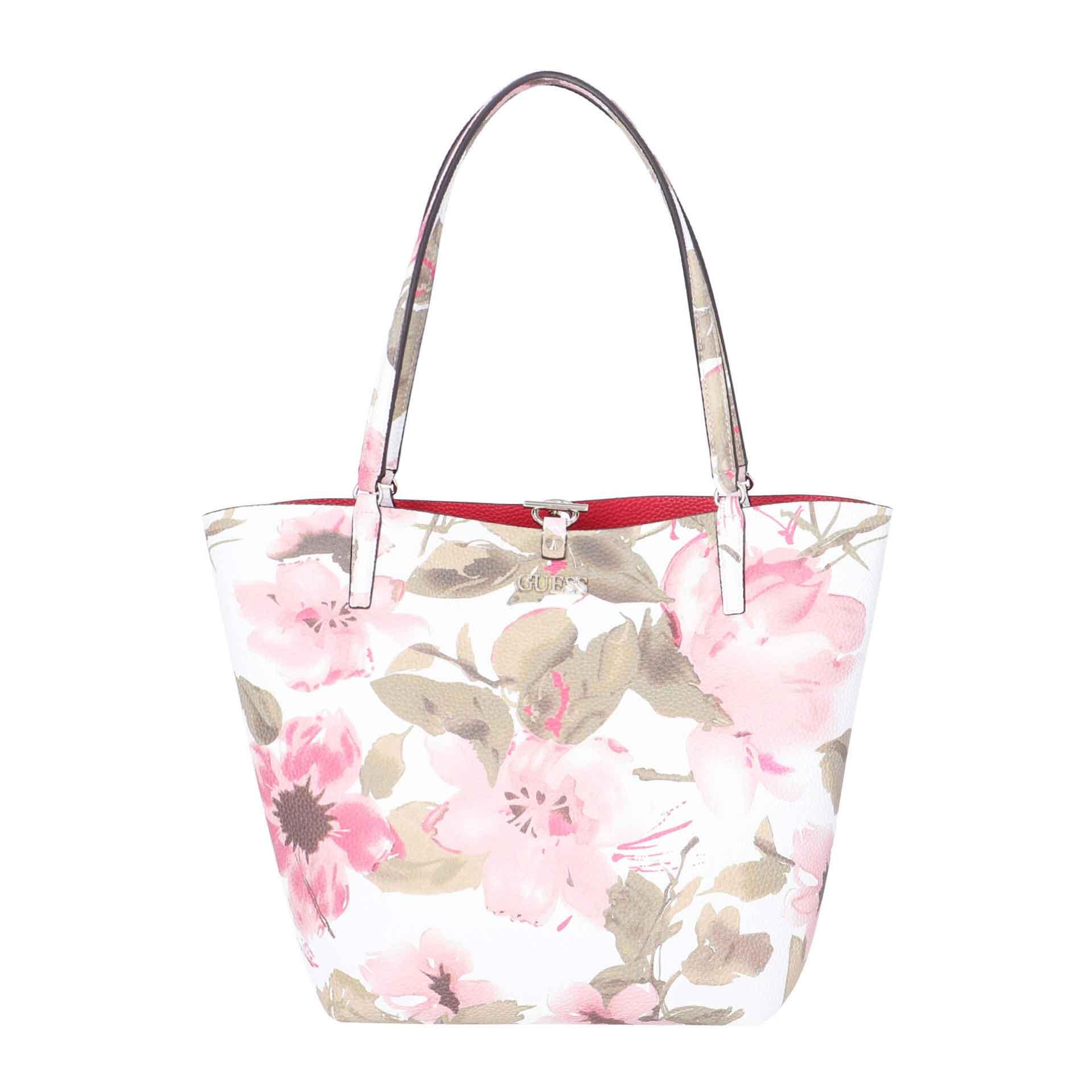 Guess Alby Shopper mit herausnehmbarer Pochette spring floral