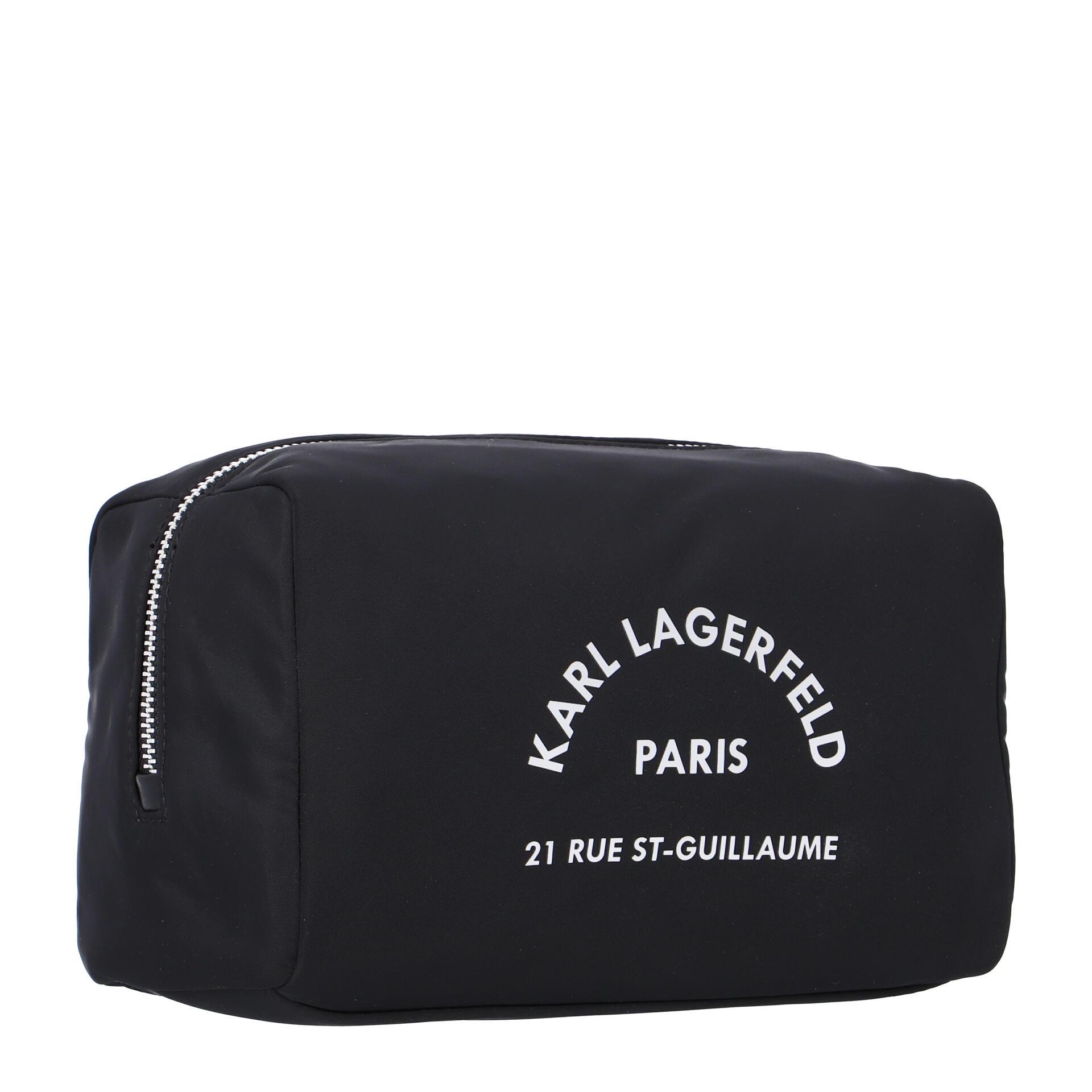 Karl Lagerfeld Rue St. Guillaume Kulturbeutel black