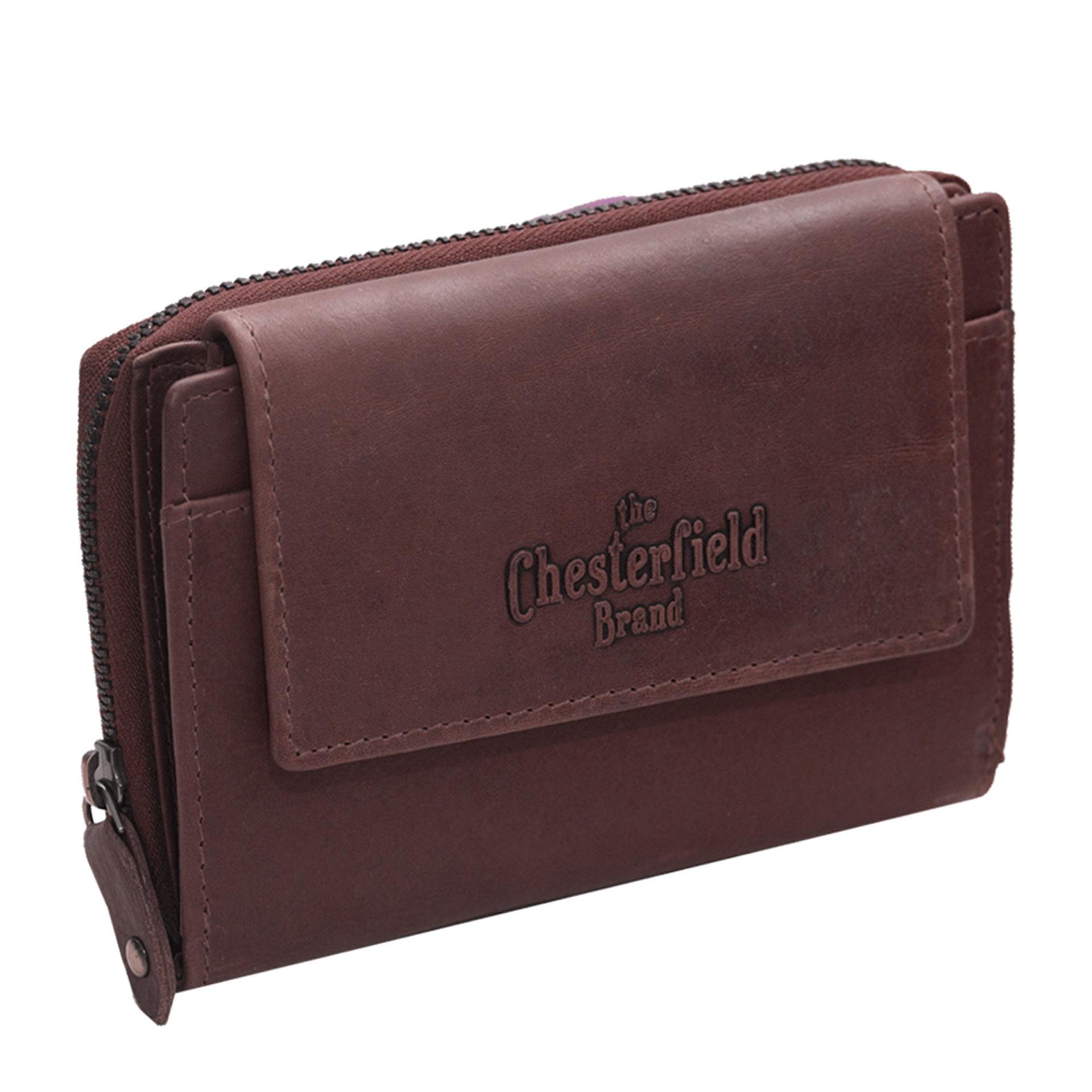 The Chesterfield Brand Ascot Geldbörse braun