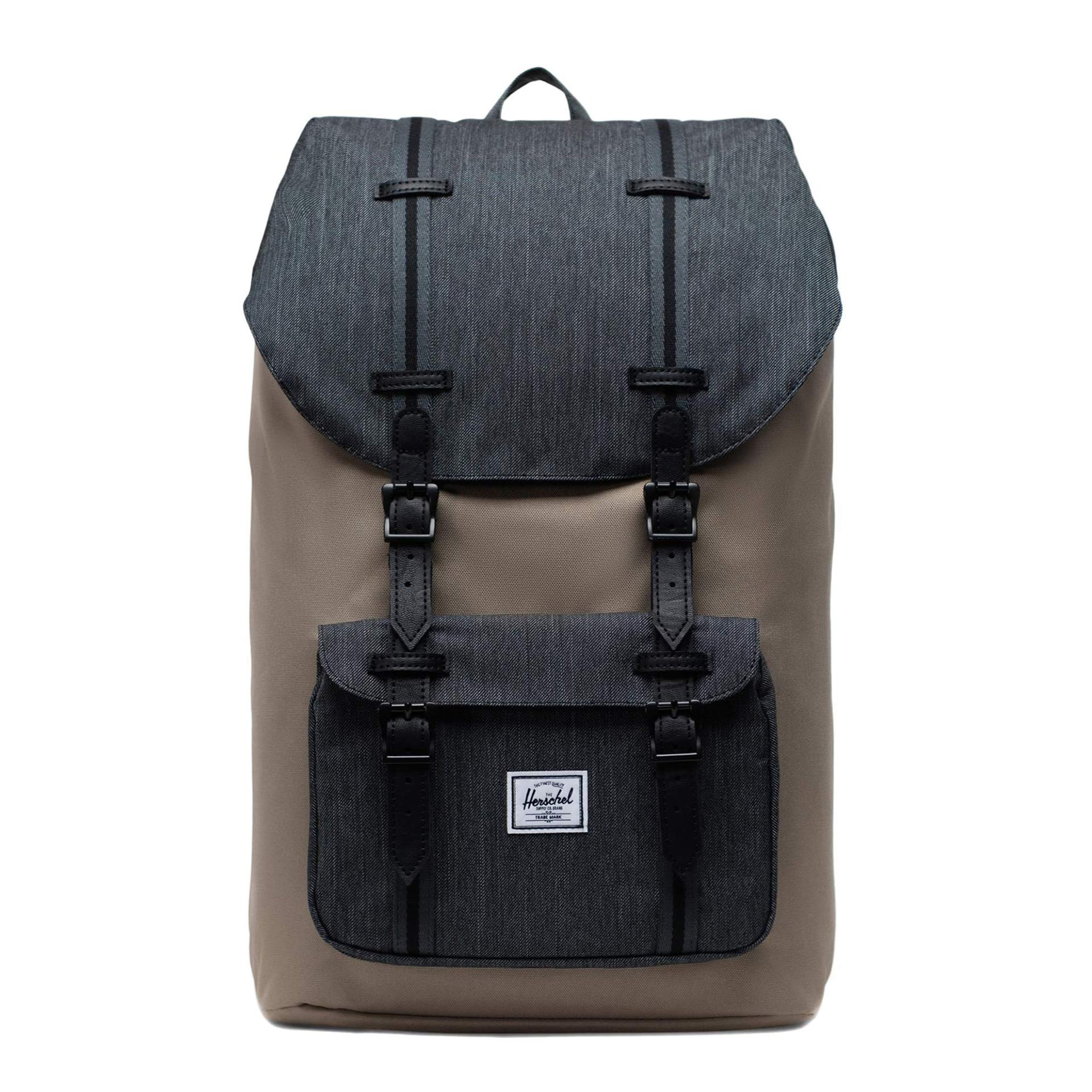 Herschel Little America Rucksack timberwolf/black Denim/black