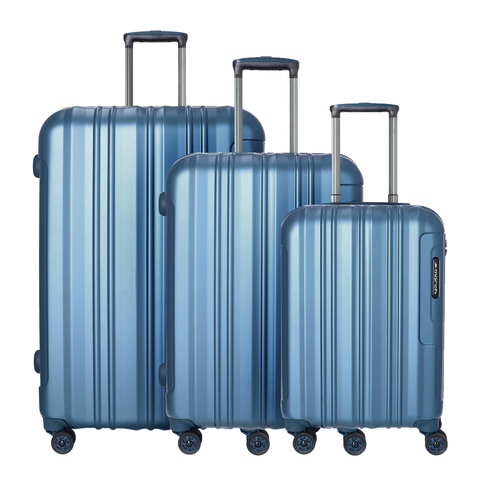 Cosmopolitan SE 3 teiliges Kofferset S/M/L metal blue