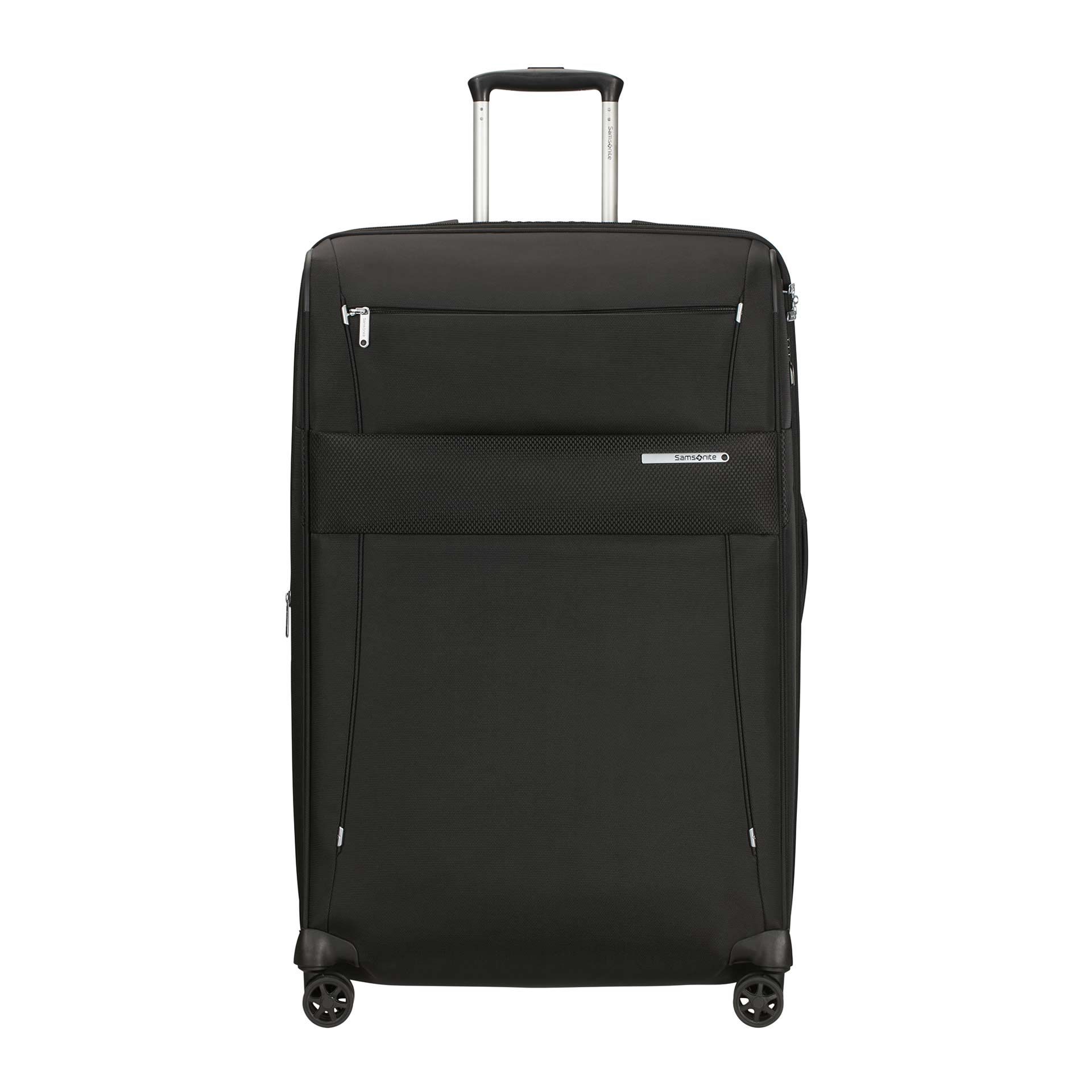 Duopack Trolley mit 4 Rollen 78 cm black