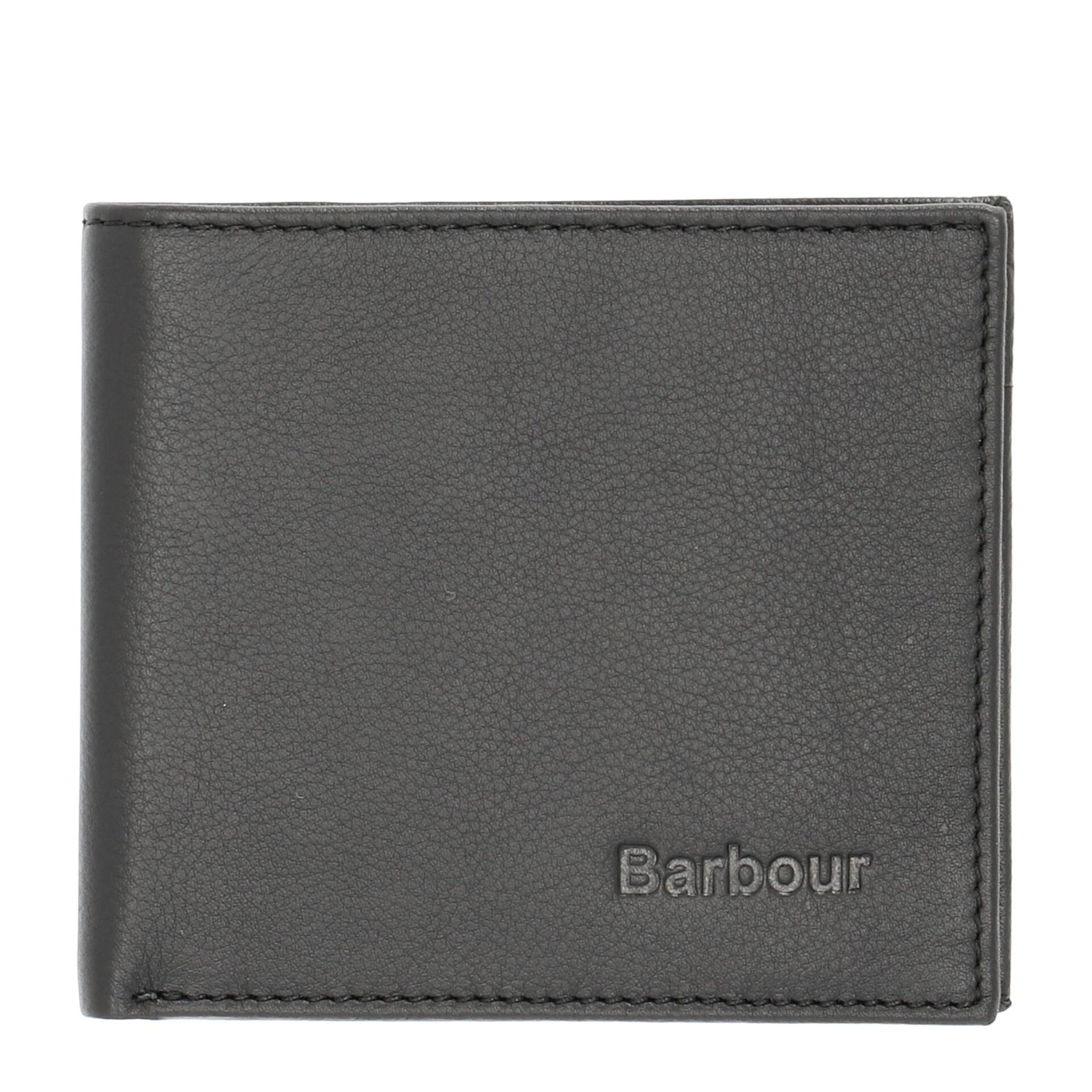 Barbour Colwell Herren Geldbörse Black/Seaweed Tartan