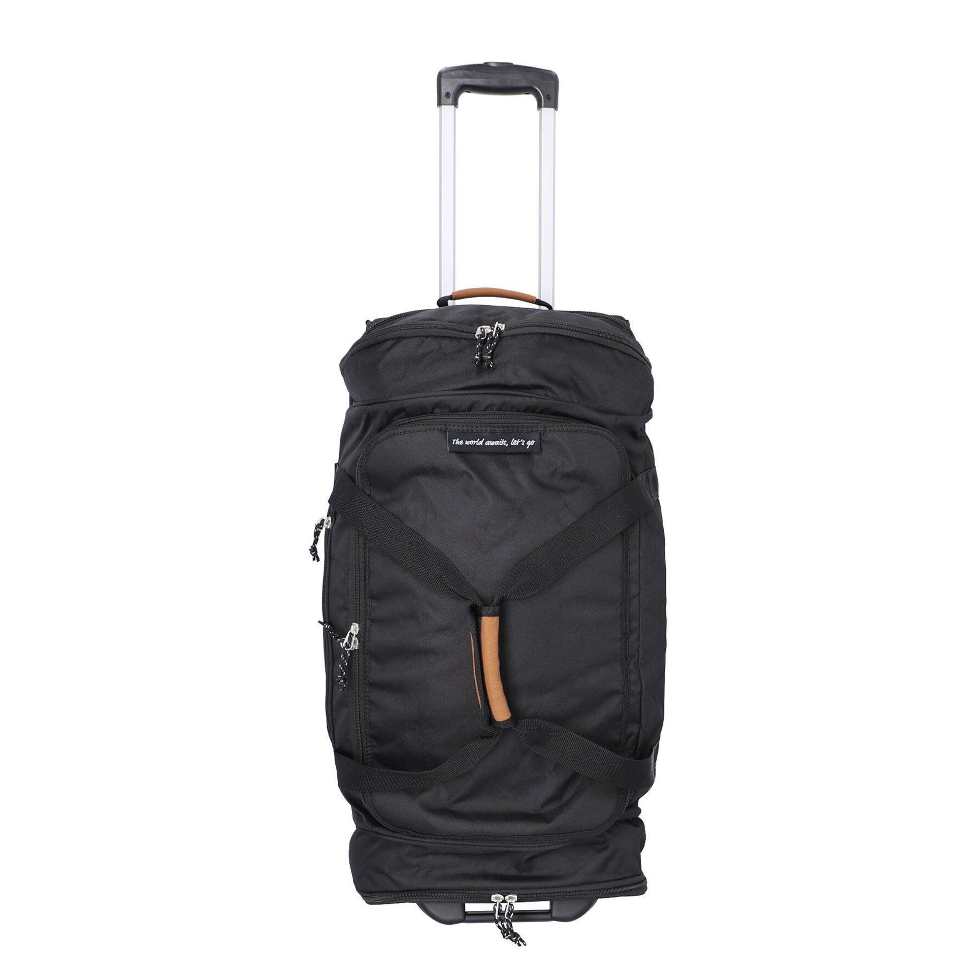 Alltrail Reisetasche mit Rollen L black